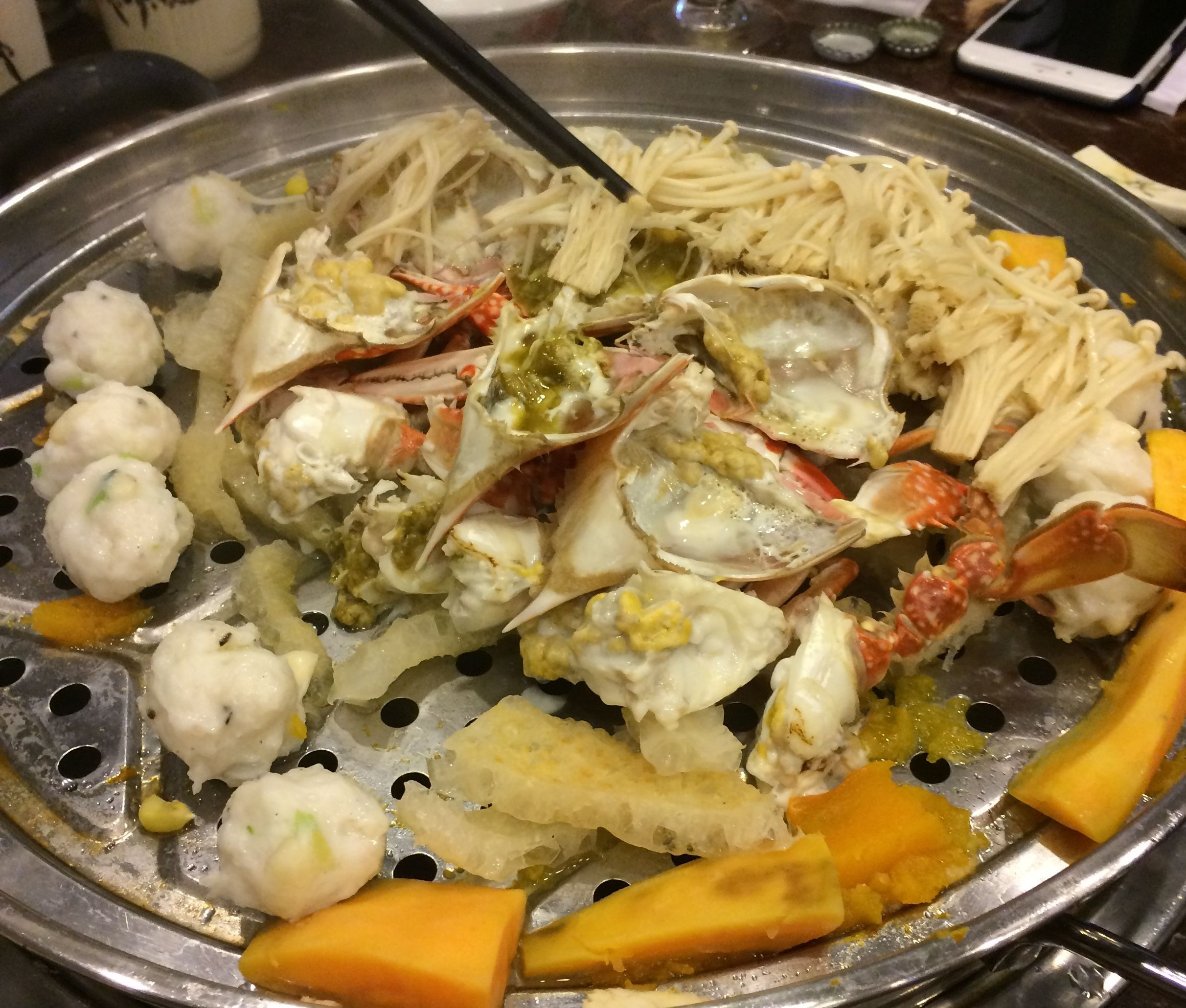 Steamed hotpot was a trending search in 2015