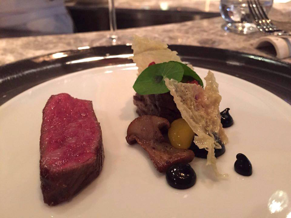 Wagyu filet and short rib at VEA
