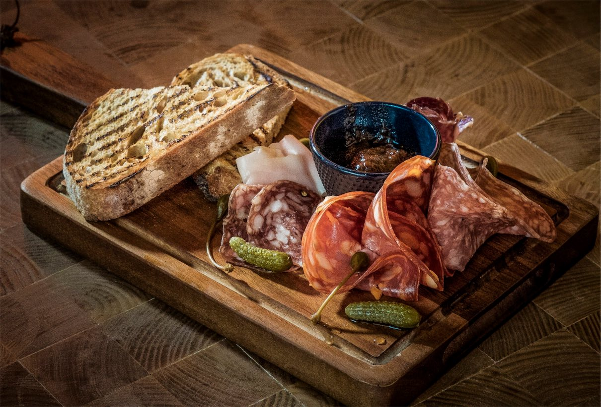 Charcuterie at the Fat Pig by Tom Aikens
