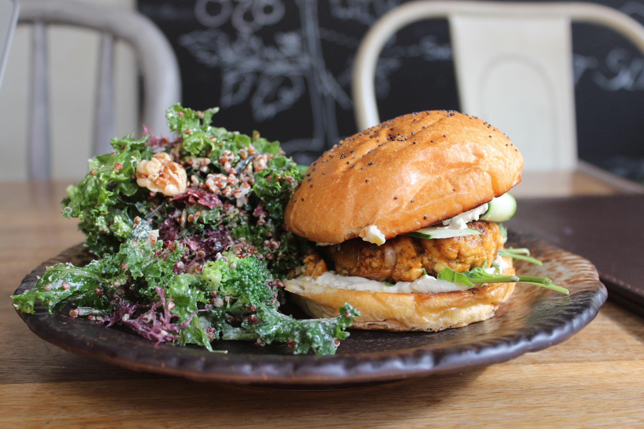 Grassroots pantry veggie burger