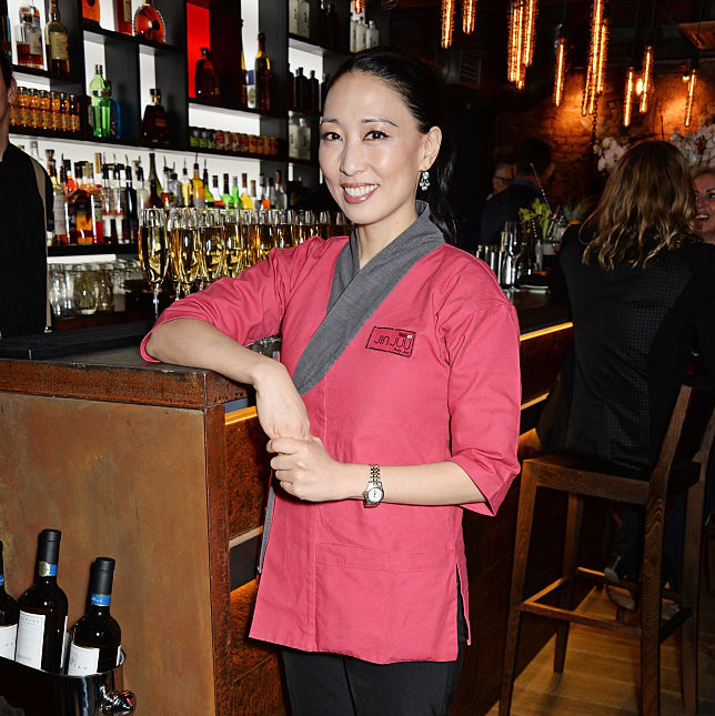 Chef Judy Joo at Jinjuu