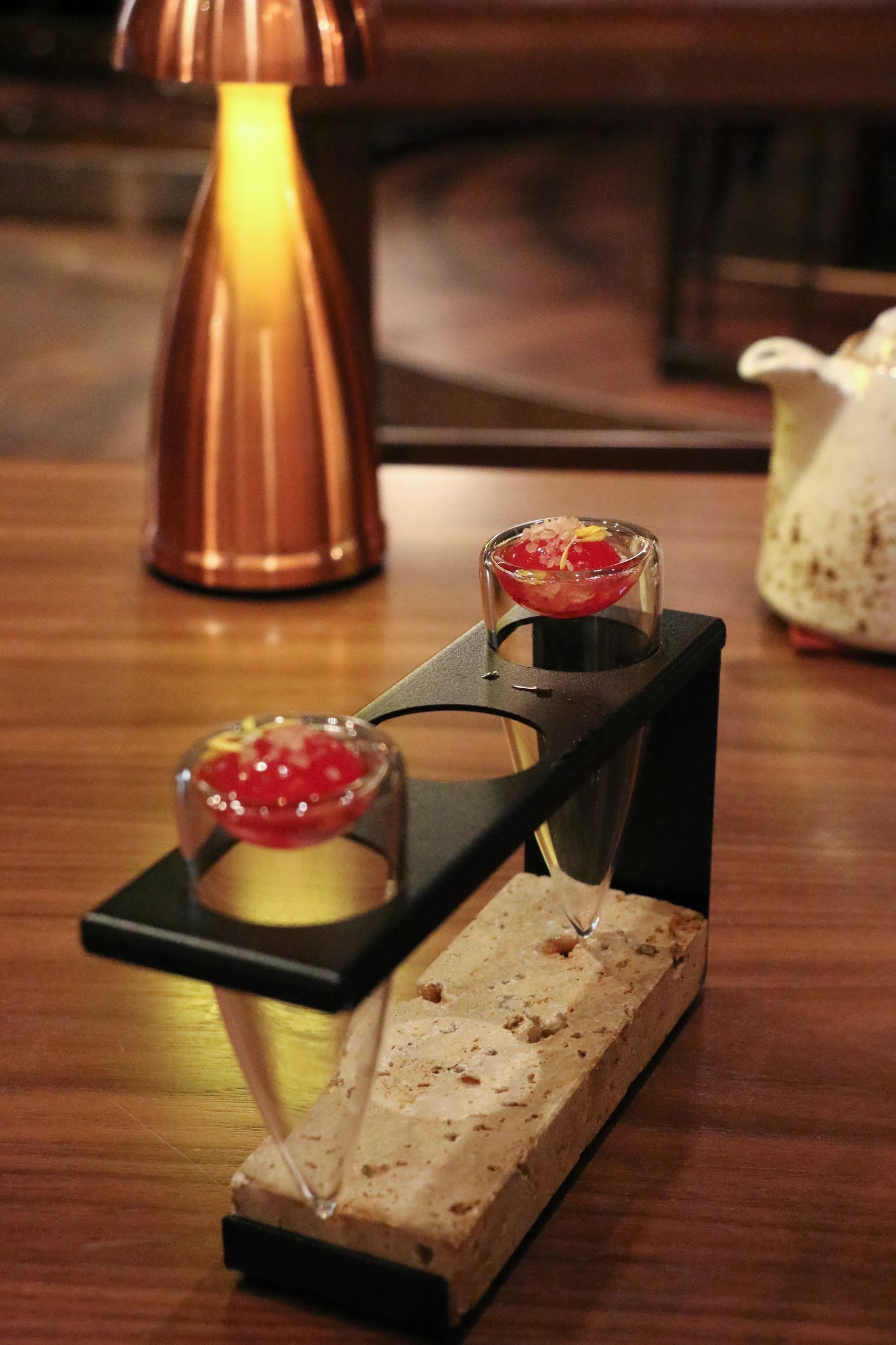 Shanghai Magic, Studio City Macau, Amuse Bouche, Watermelon Poprocks