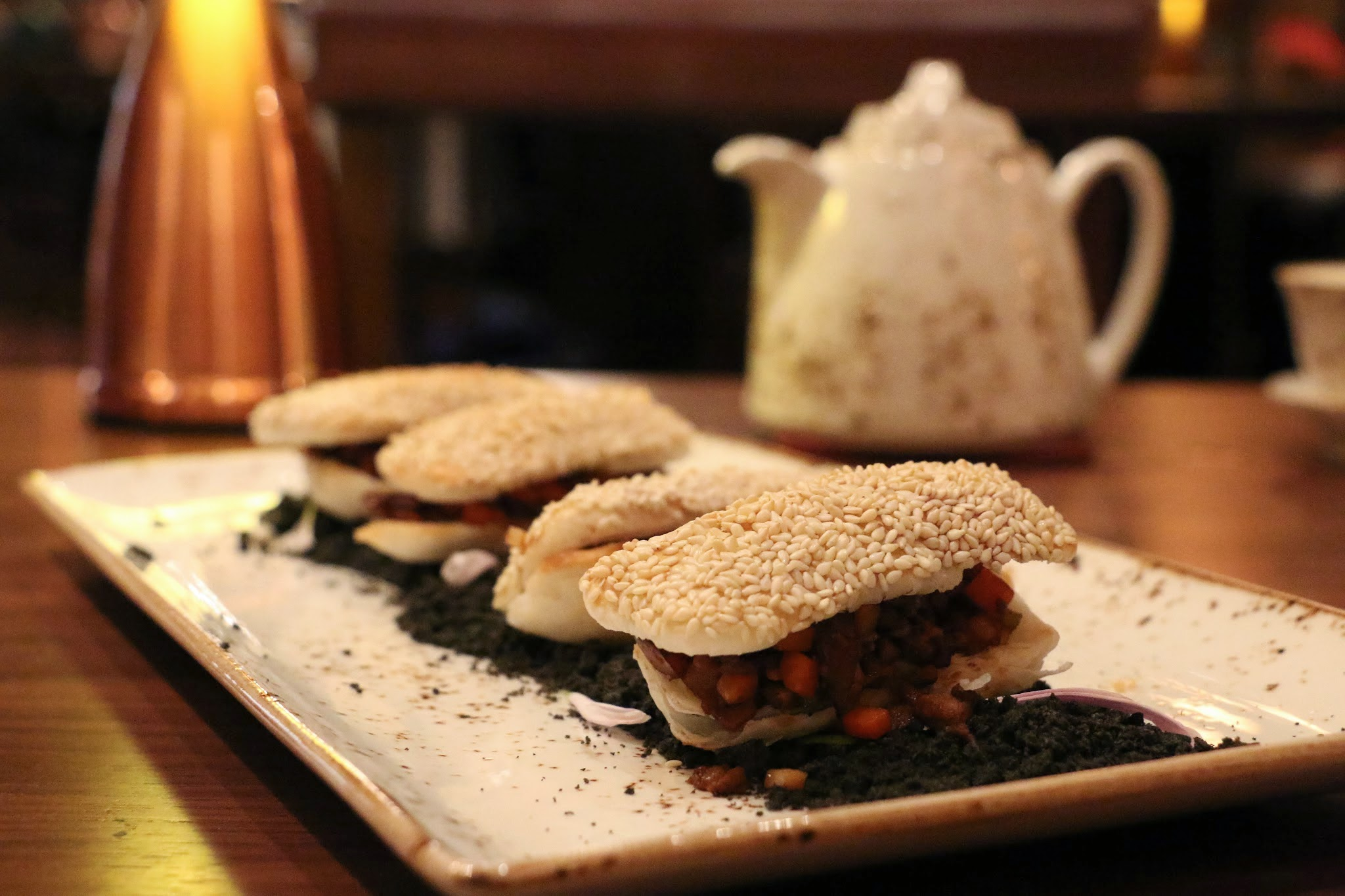 Shanghai Magic, Studio City Macau,, Minced Duck Sesame Pastry