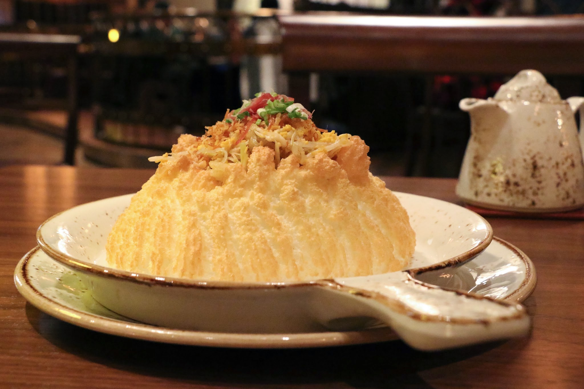 Shanghai Magic, Studio City Macau, Egg White Souffle, Fish Maw Conpoy