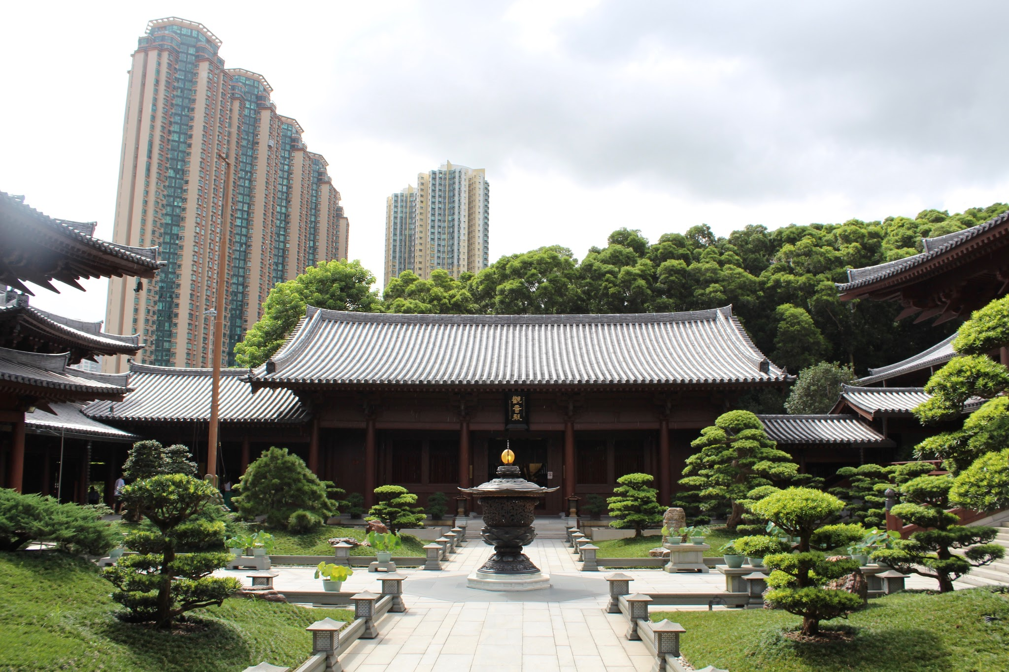 Chi Lin Nunnery, Diamond Hill, temple, garden