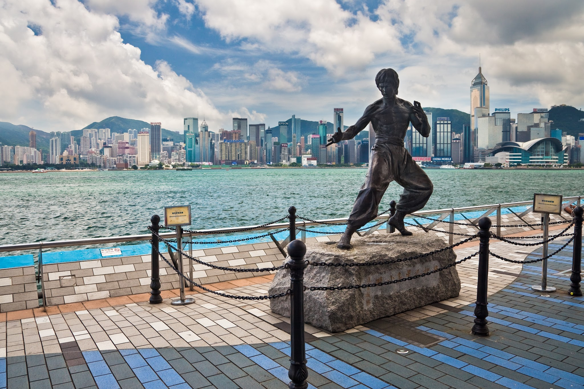 avenue of star, tst, tsim sha tsui, Bruce Lee, Ku Fu Star