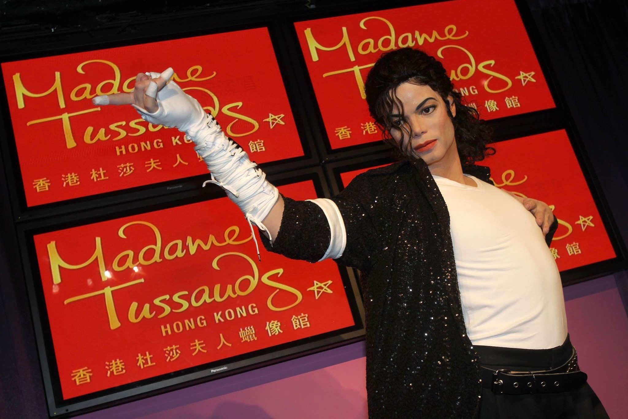 MJ, Micheal Jackson,  Madame Tussauds Hong Kong, wax figures, hero