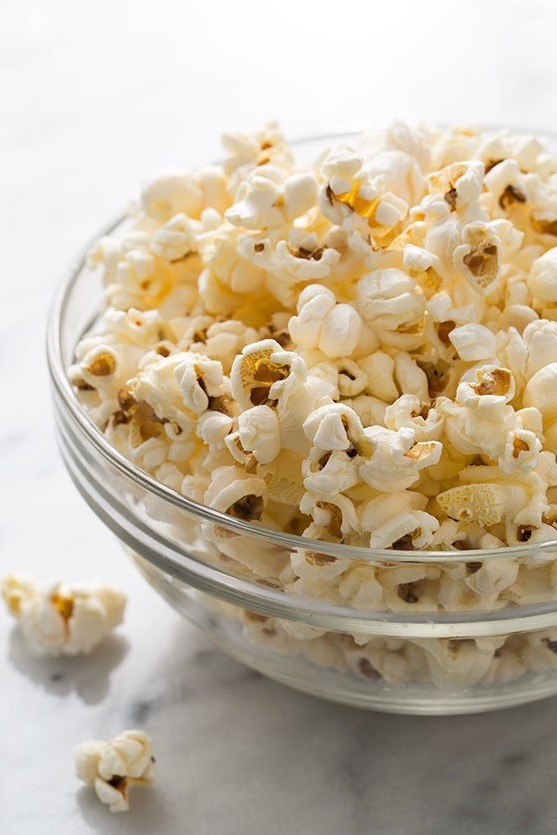 simply recipe, basic popcorn, popcorn, recipe