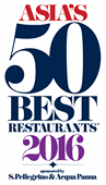Asian's 50 Best Restaurant 2016