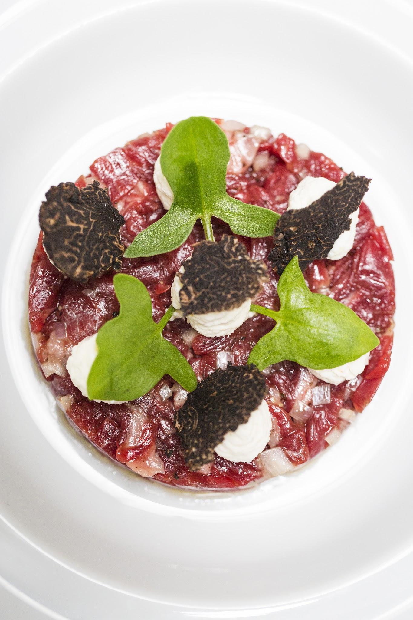 Arcane, Australian Day Menu, Beef Tartare
