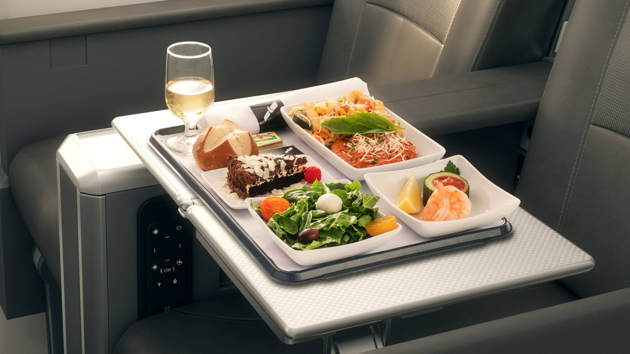 American Air meal