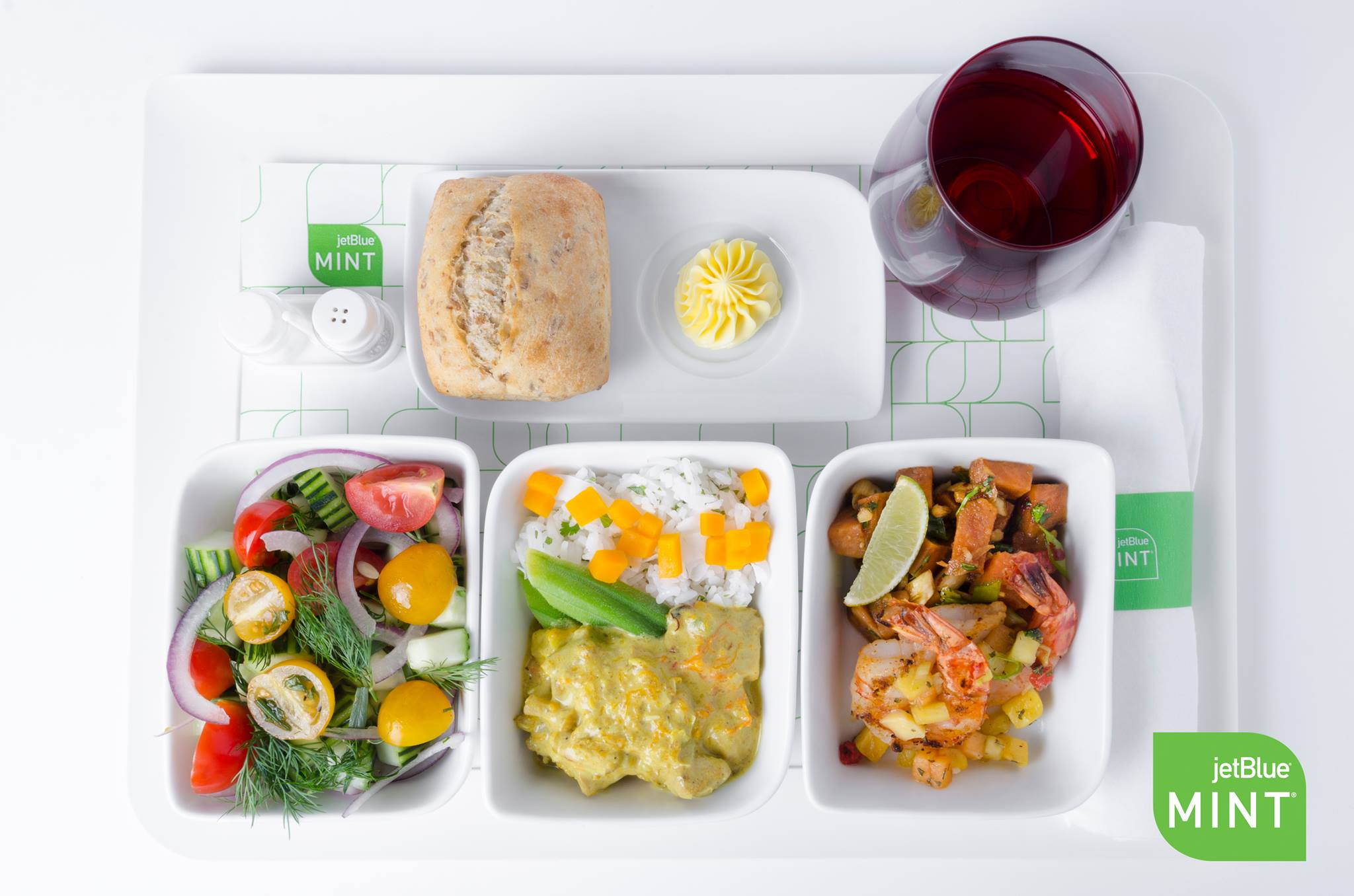 JetBlue air meal