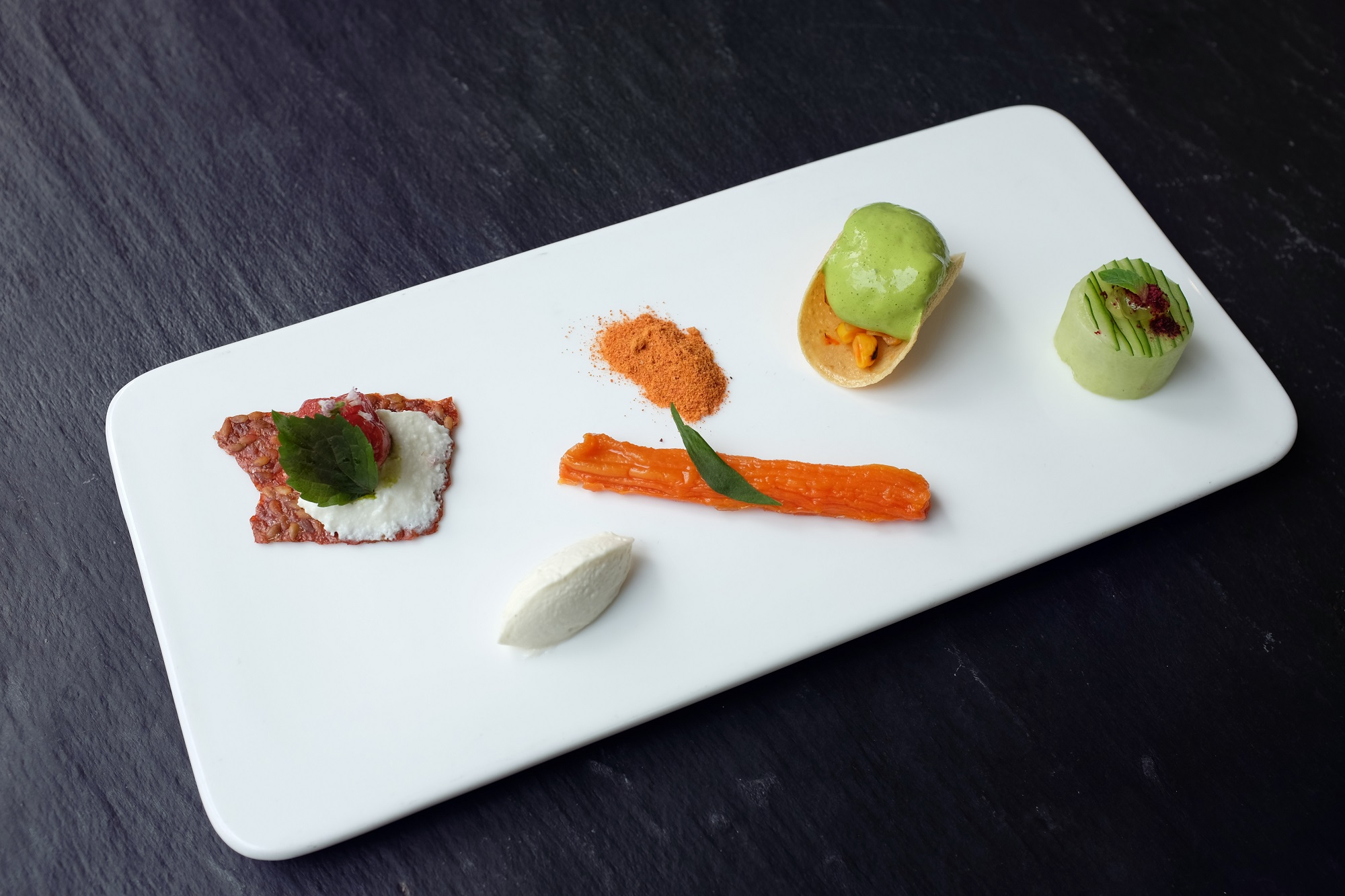 Winter Appetisers at NUR