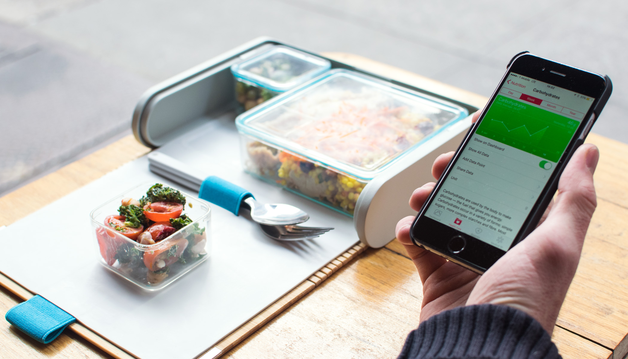 Prepd Lunchboxes work in tandem with heath apps