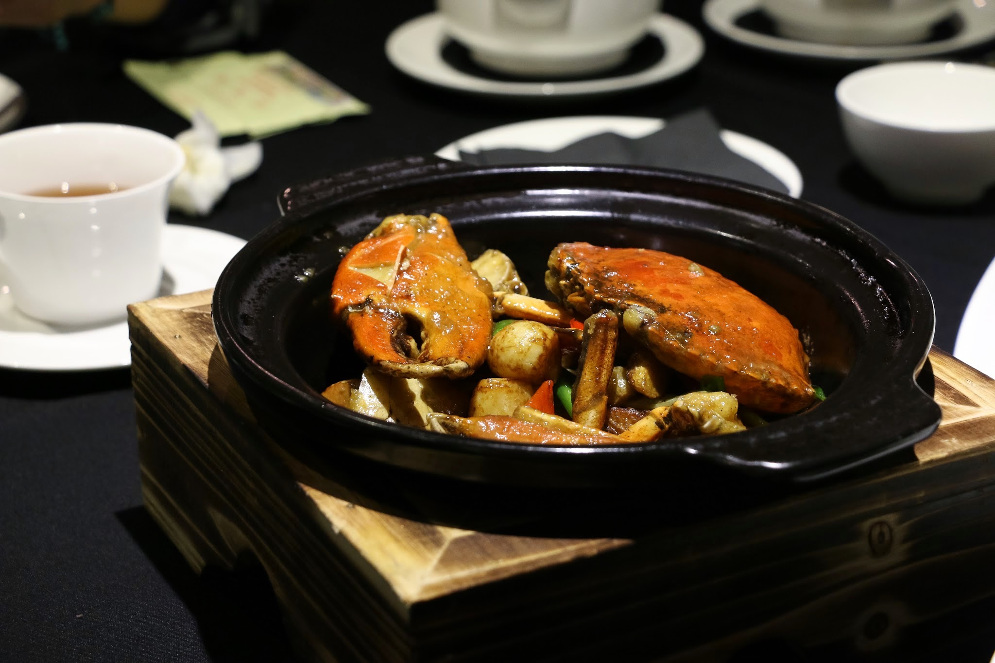 Shanghai Lo, Crab Kitchen, Baked Crab in Casserole