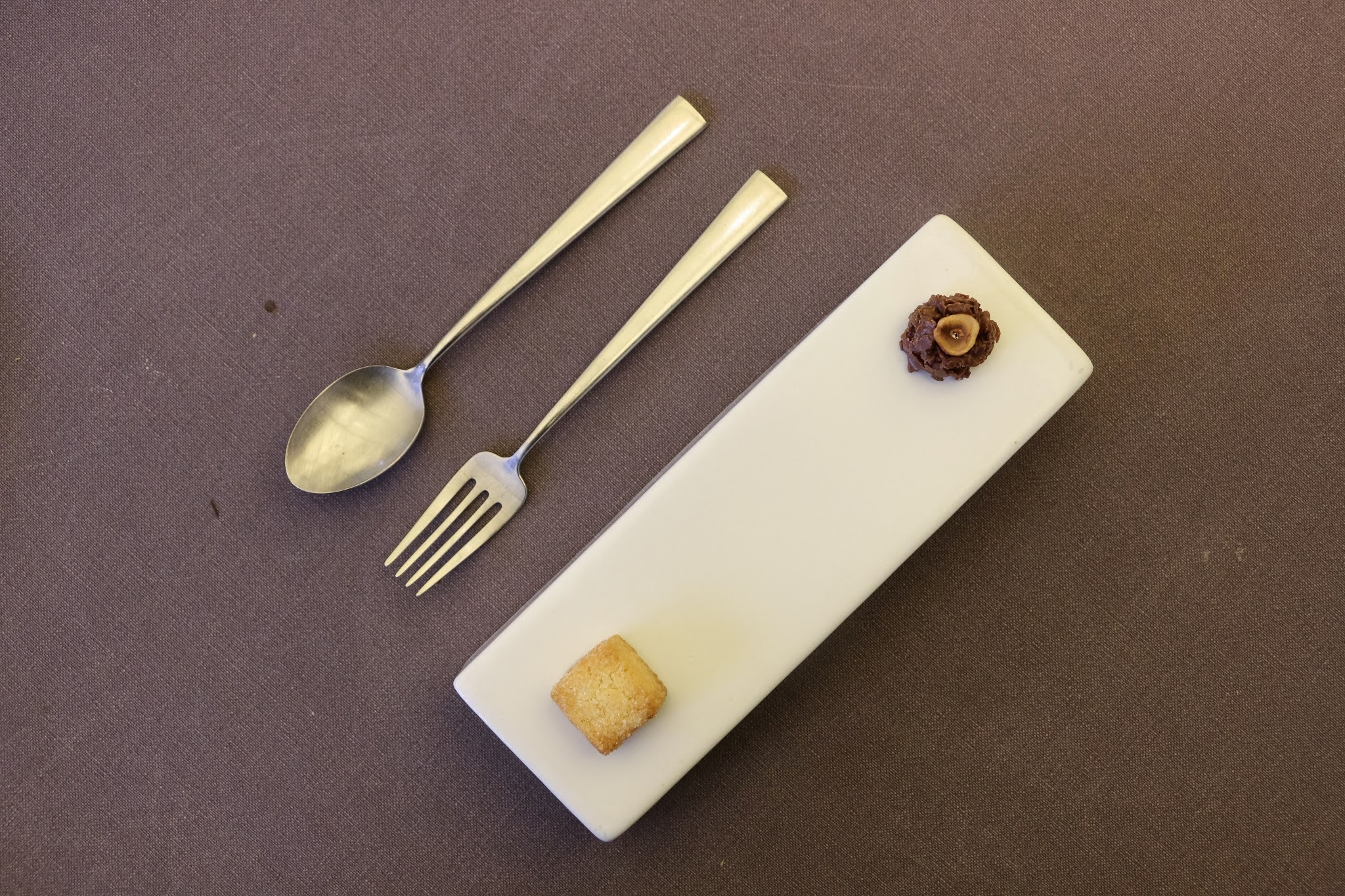 Jung Sik Dang, Korea, Petit Fours, Sable