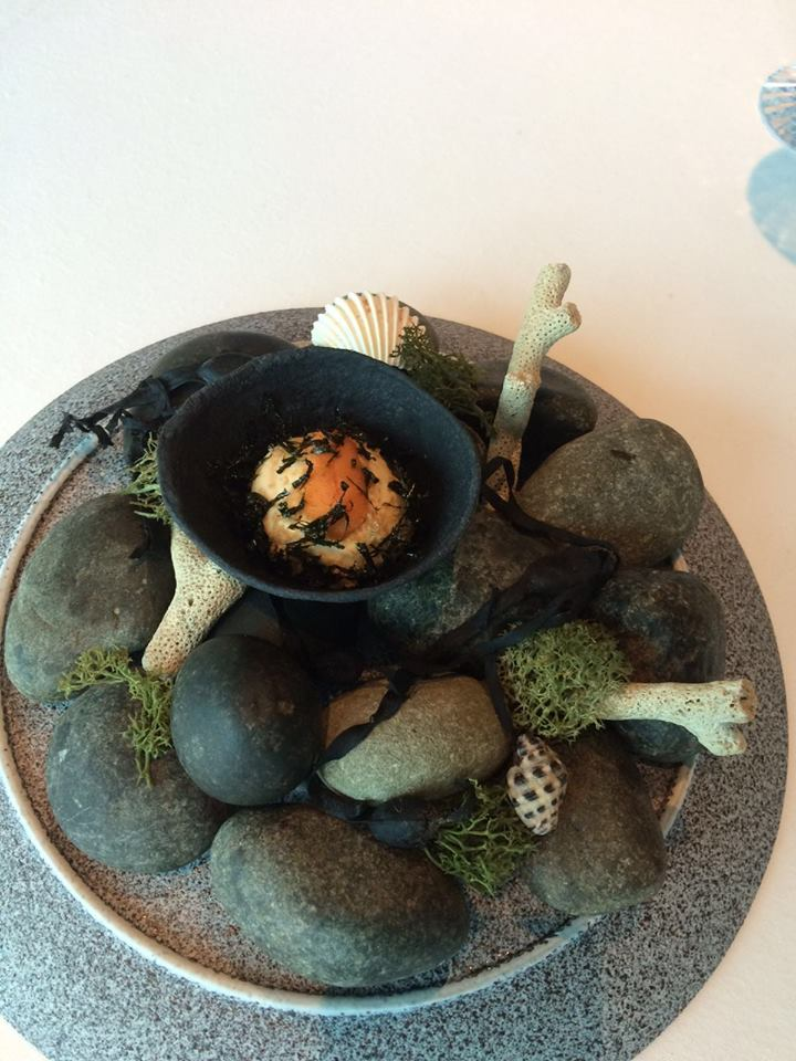 Inventive dishes at The Ocean's three day pop up