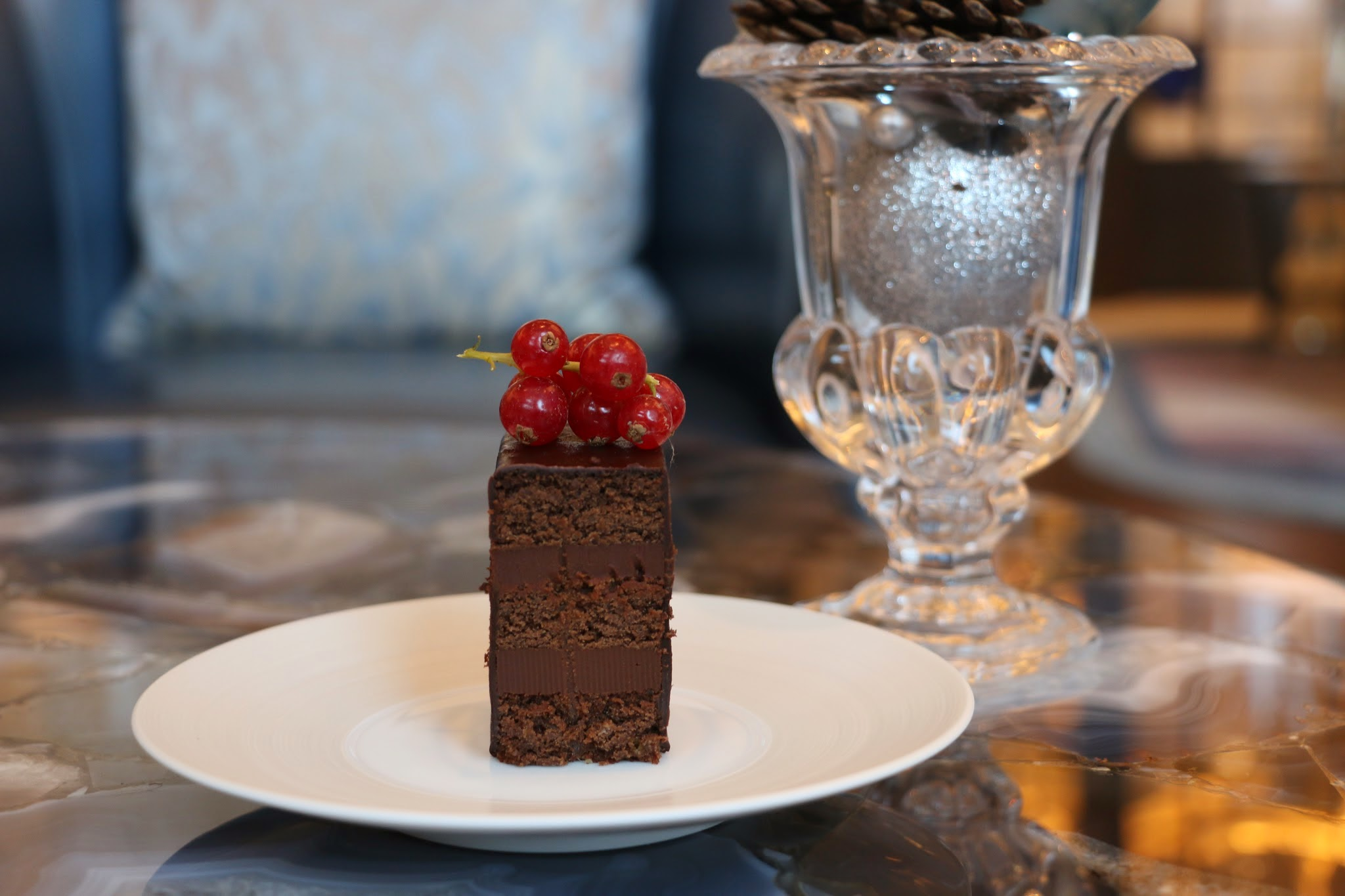The Ritz Carlton Bar & Lounge, Chocolate Cake, Chocolate Drink, Macau, Galaxy Macau