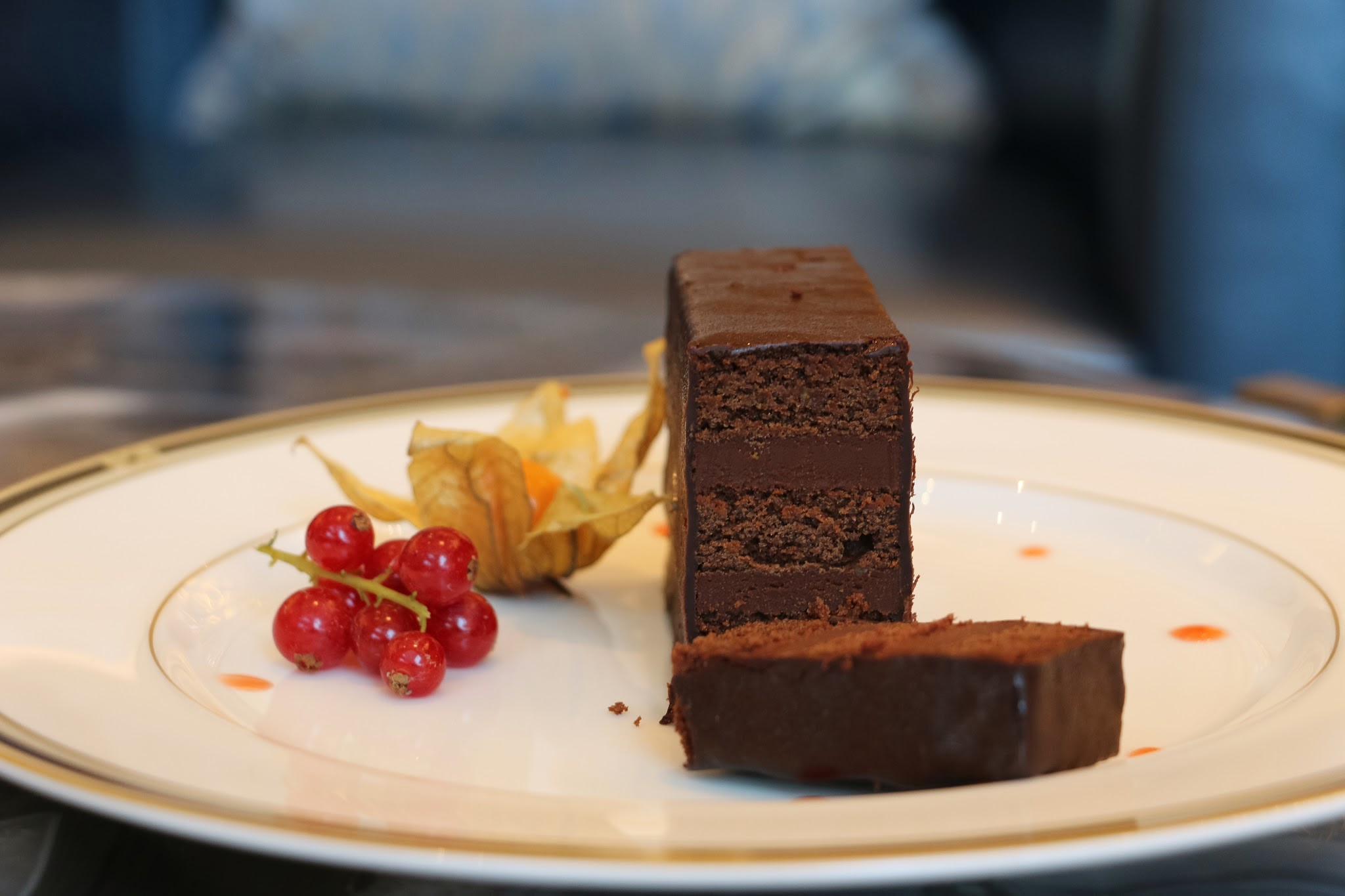 The Ritz Carlton Bar & Lounge, Chocolate Cake, Chocolate Drink, Macau, Galaxy Macau, Cake