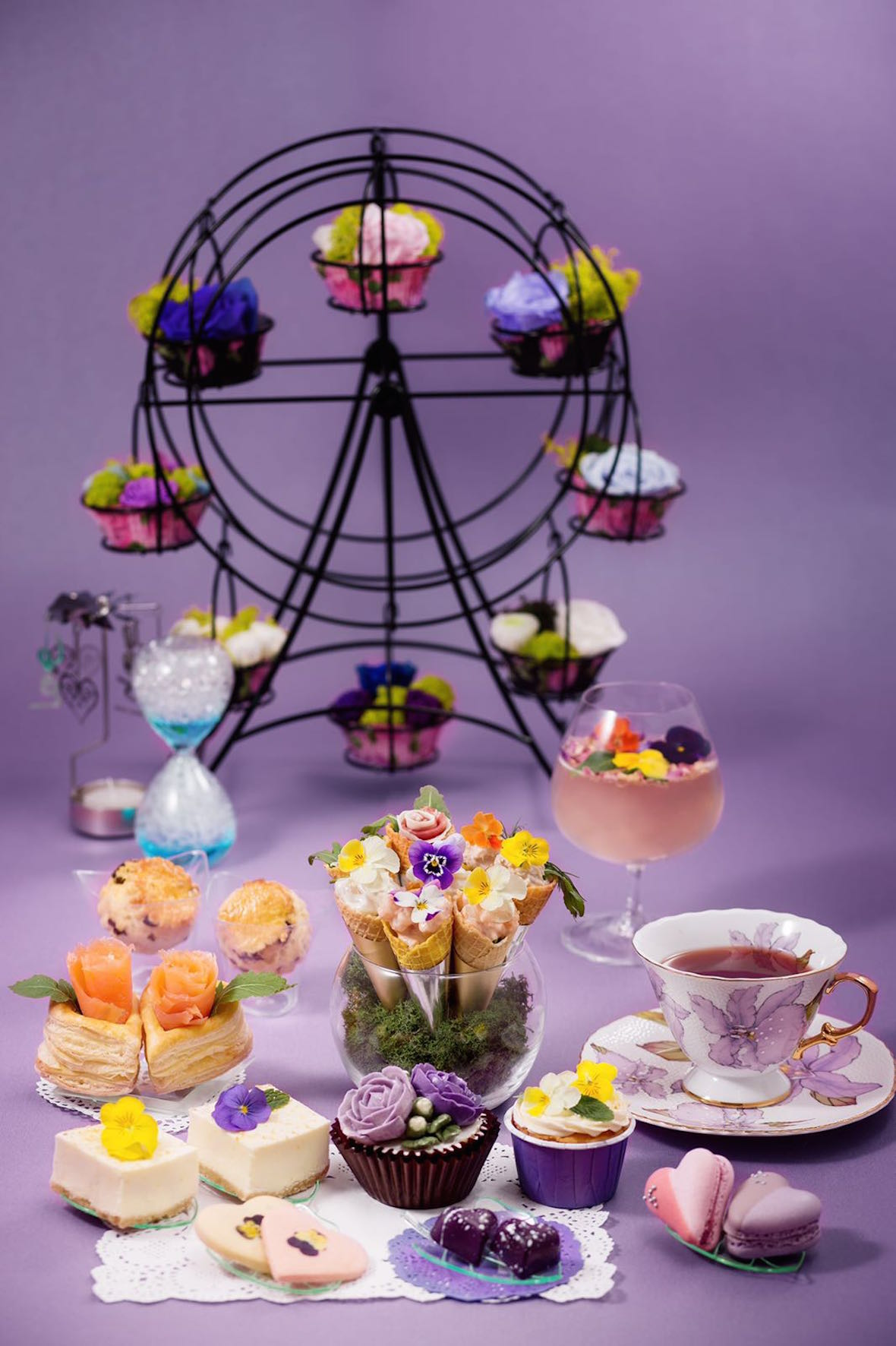DK Cuppa Tea Spring Symphony Afternoon Tea