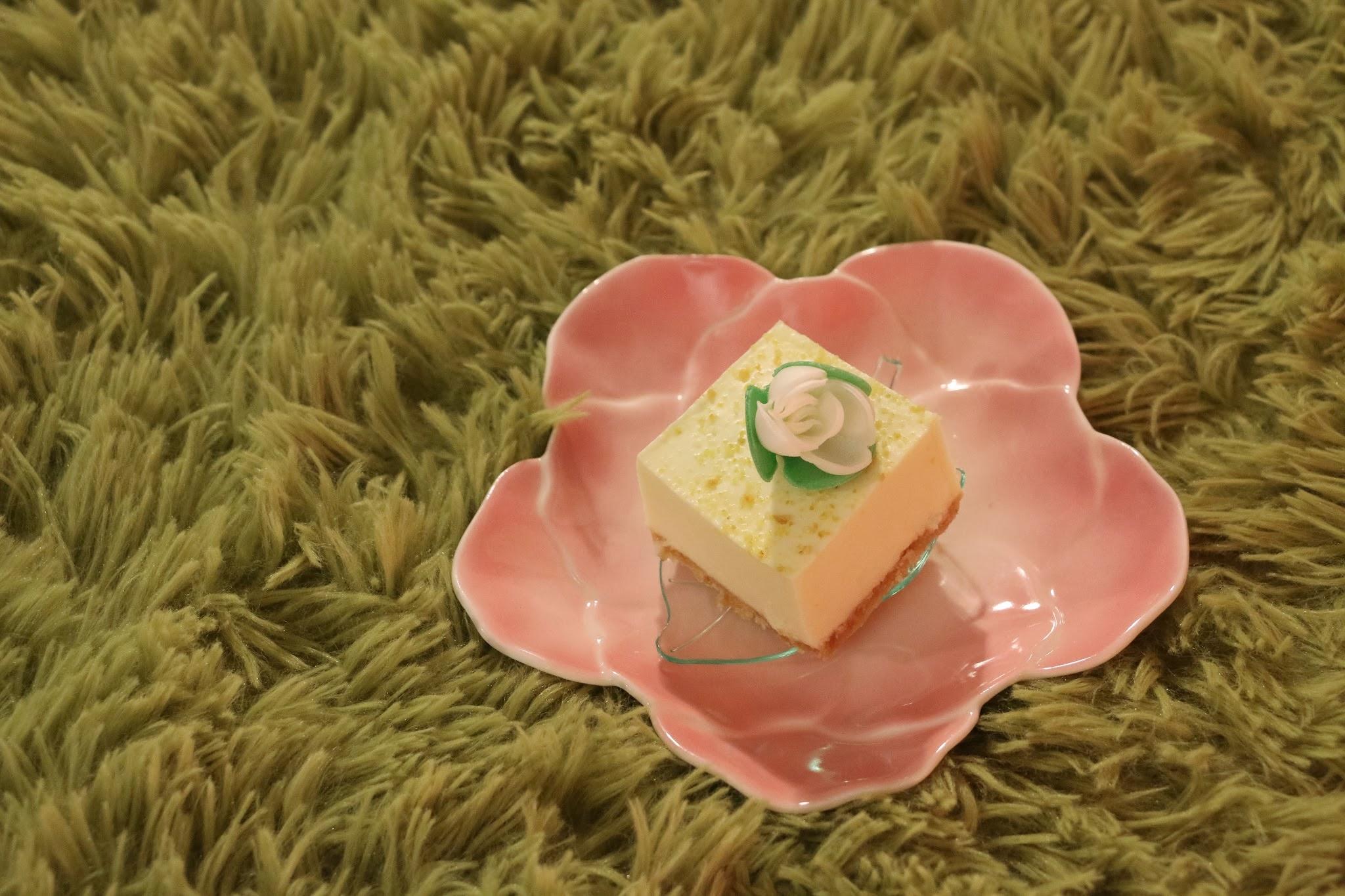 DK Cuppa Tea Spring Symphony Afternoon Tea, Yuzu Cheesecake