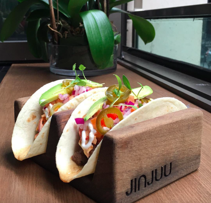 Jinjuu's Tacos brought to you by Deliveroo