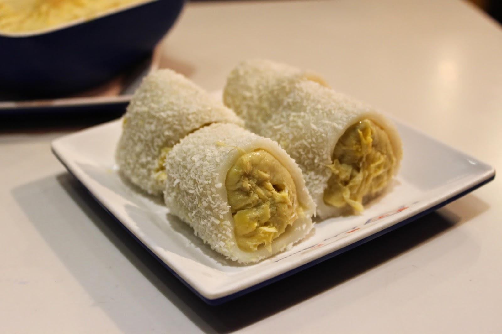 Lucky dessert durian mochi, Spot The Food
