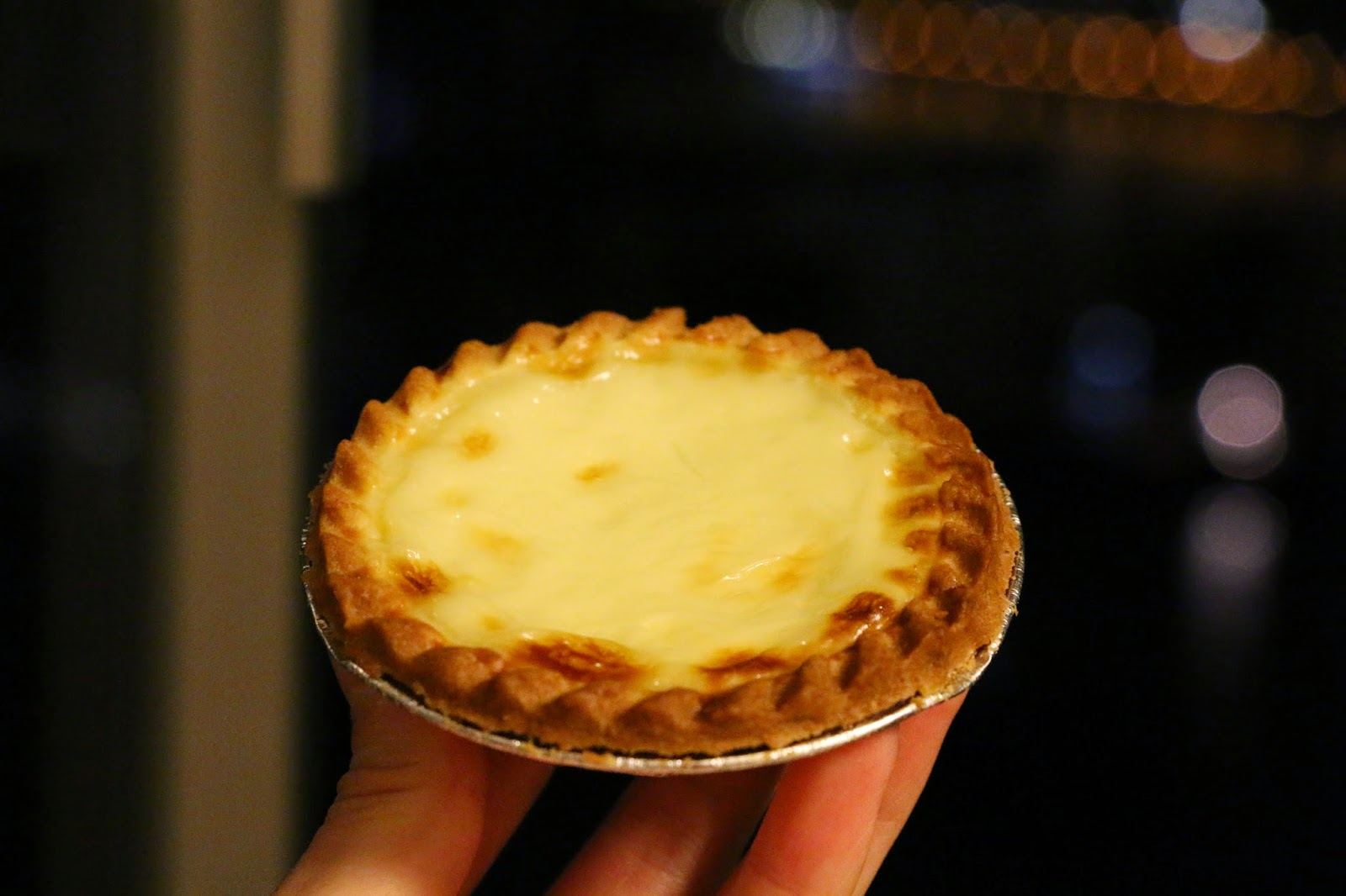 arome bakery, hokkaido milk egg tart, Spot The Food