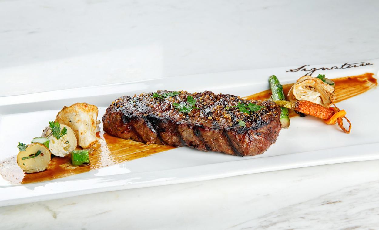 Marbling by Mr. Steak's 400 Days Aberdeen Prime Steak