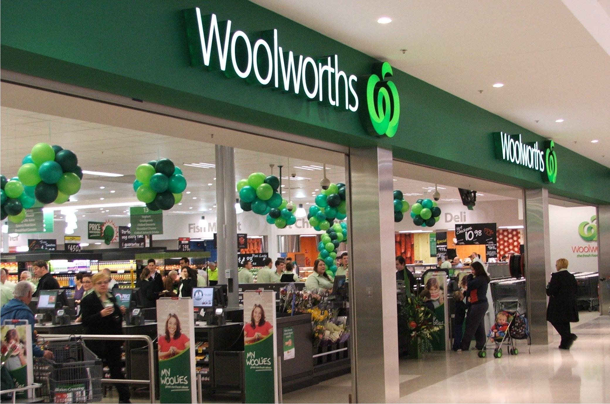 Woolworths in Australia