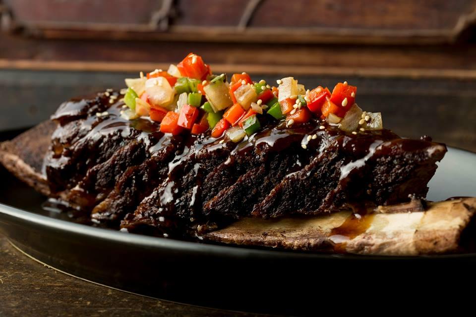 Mott 32's BBQ Iberia pork char siu