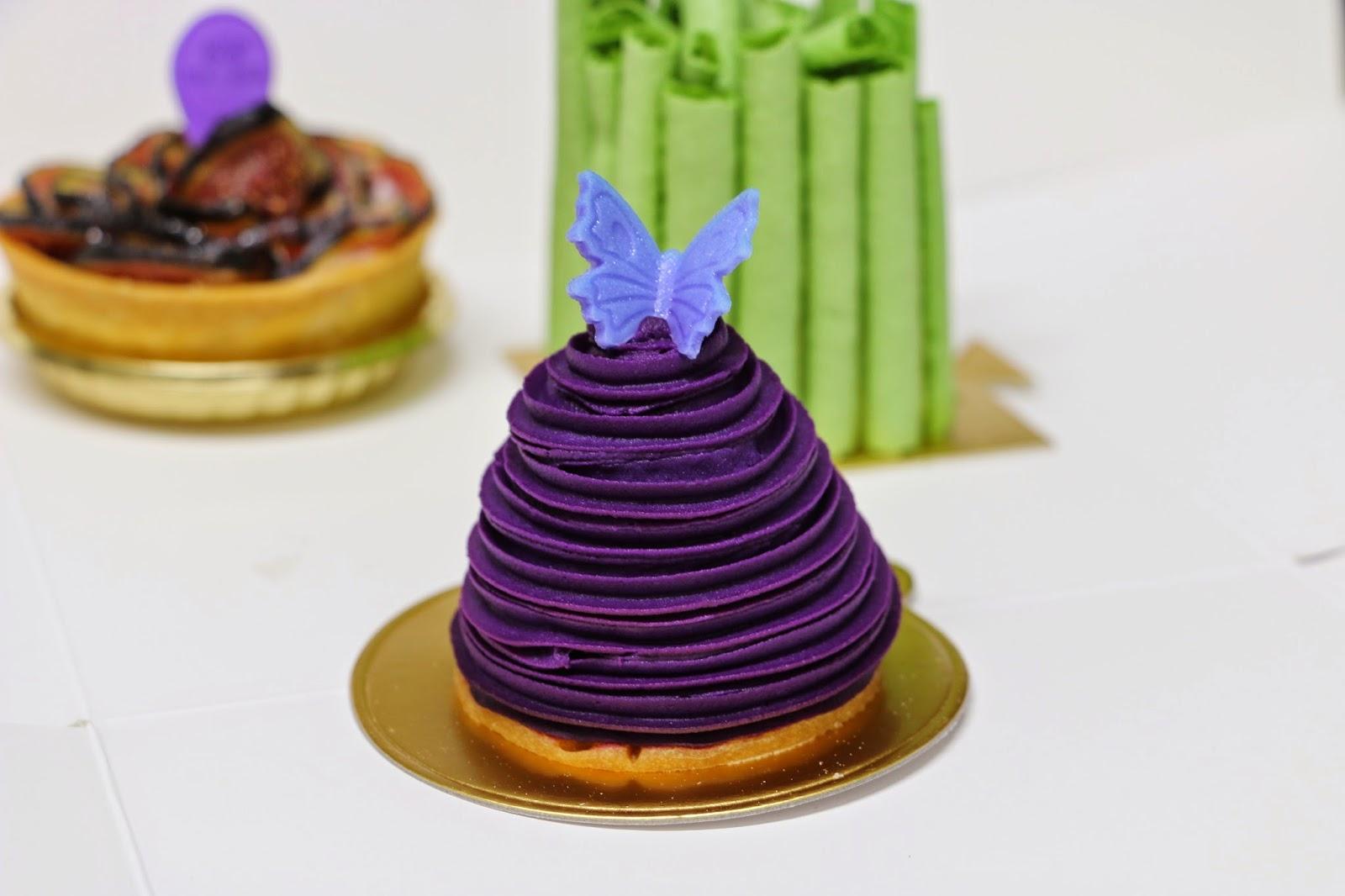 cake's secret purple sweet potato cake, Spot The Food