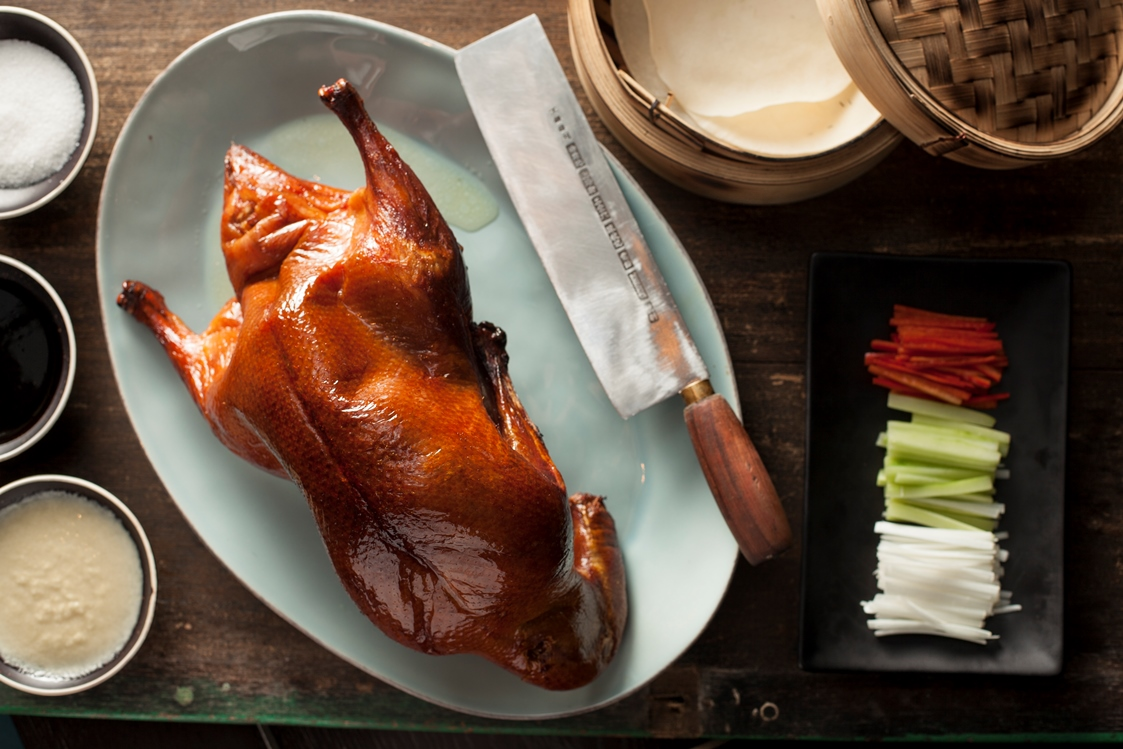 Peking Duck at Mott 32