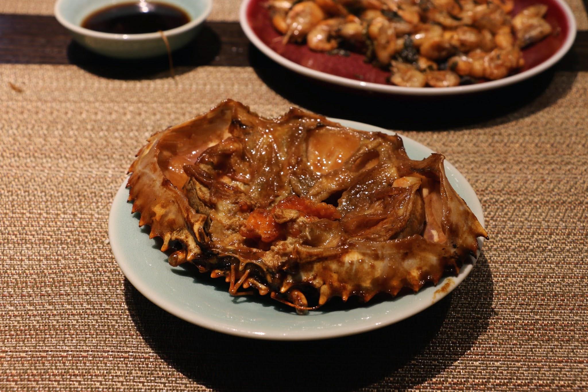 家上海,麵醬毛豆肉蟹