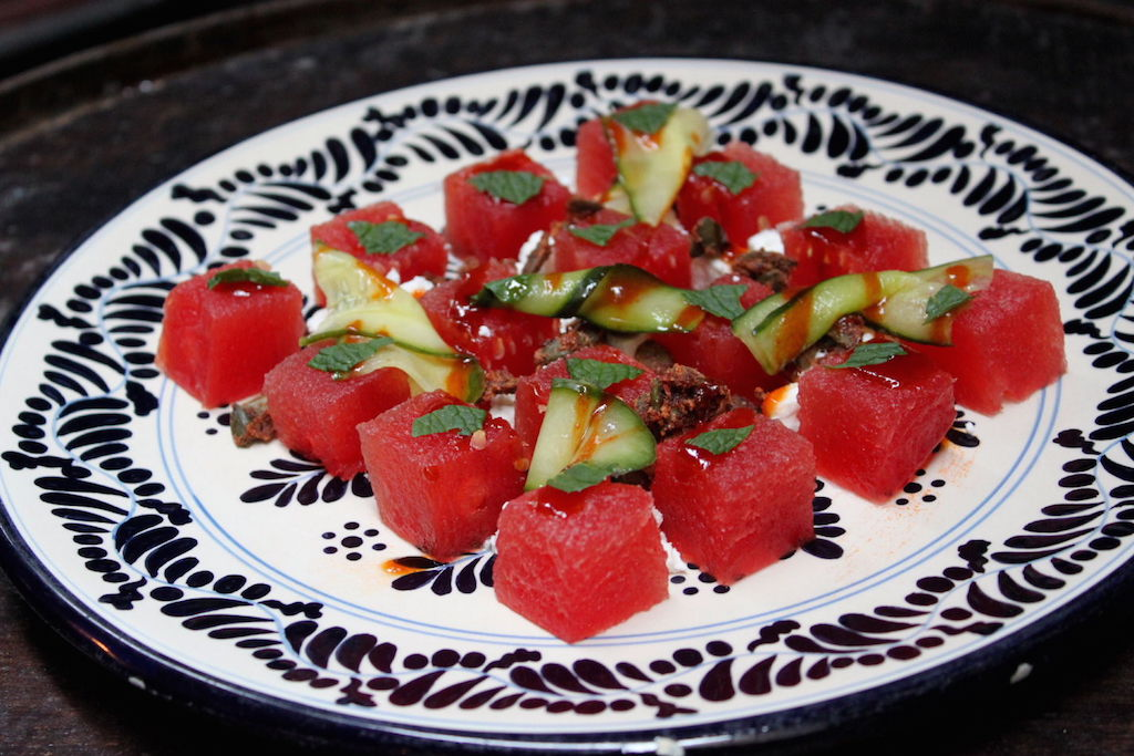 Brickhouse's watermelon salad