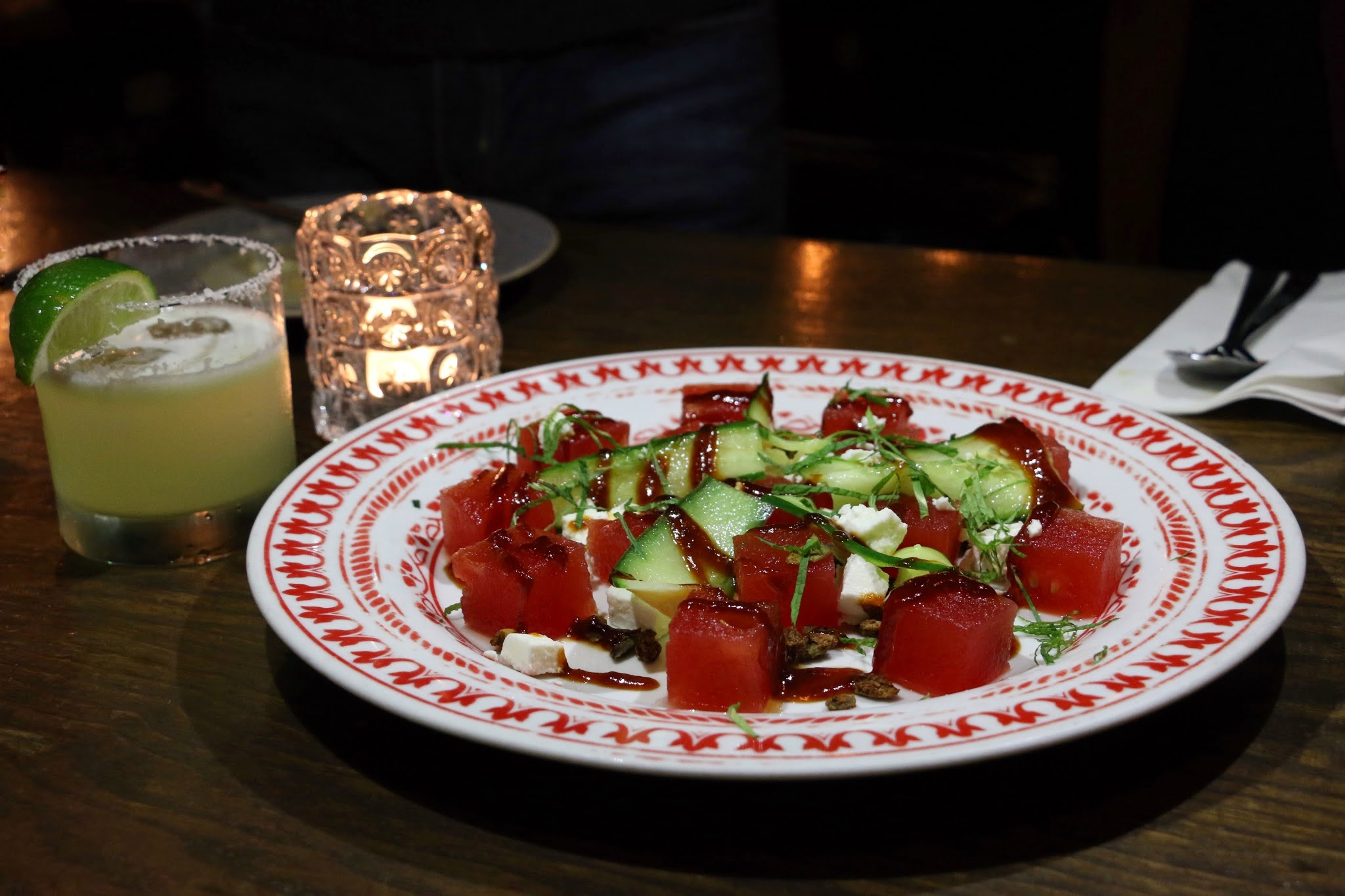 Brickhouse, Watermelon goat feta cheese salad