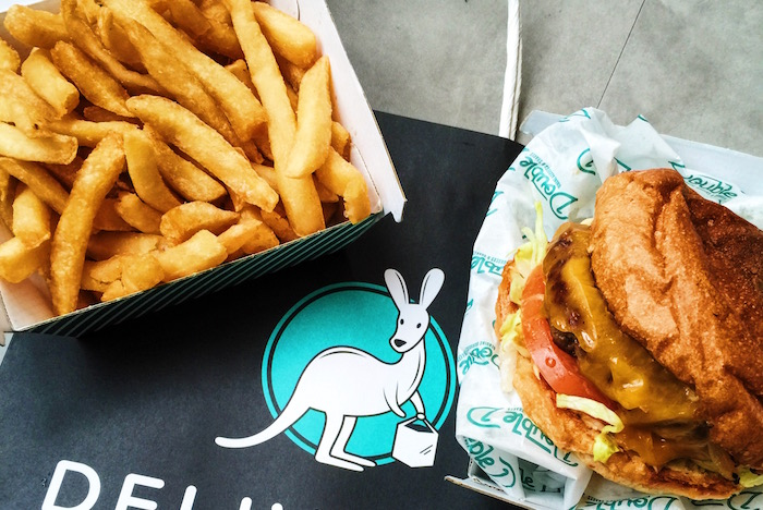 Double D Burger Deliveroo