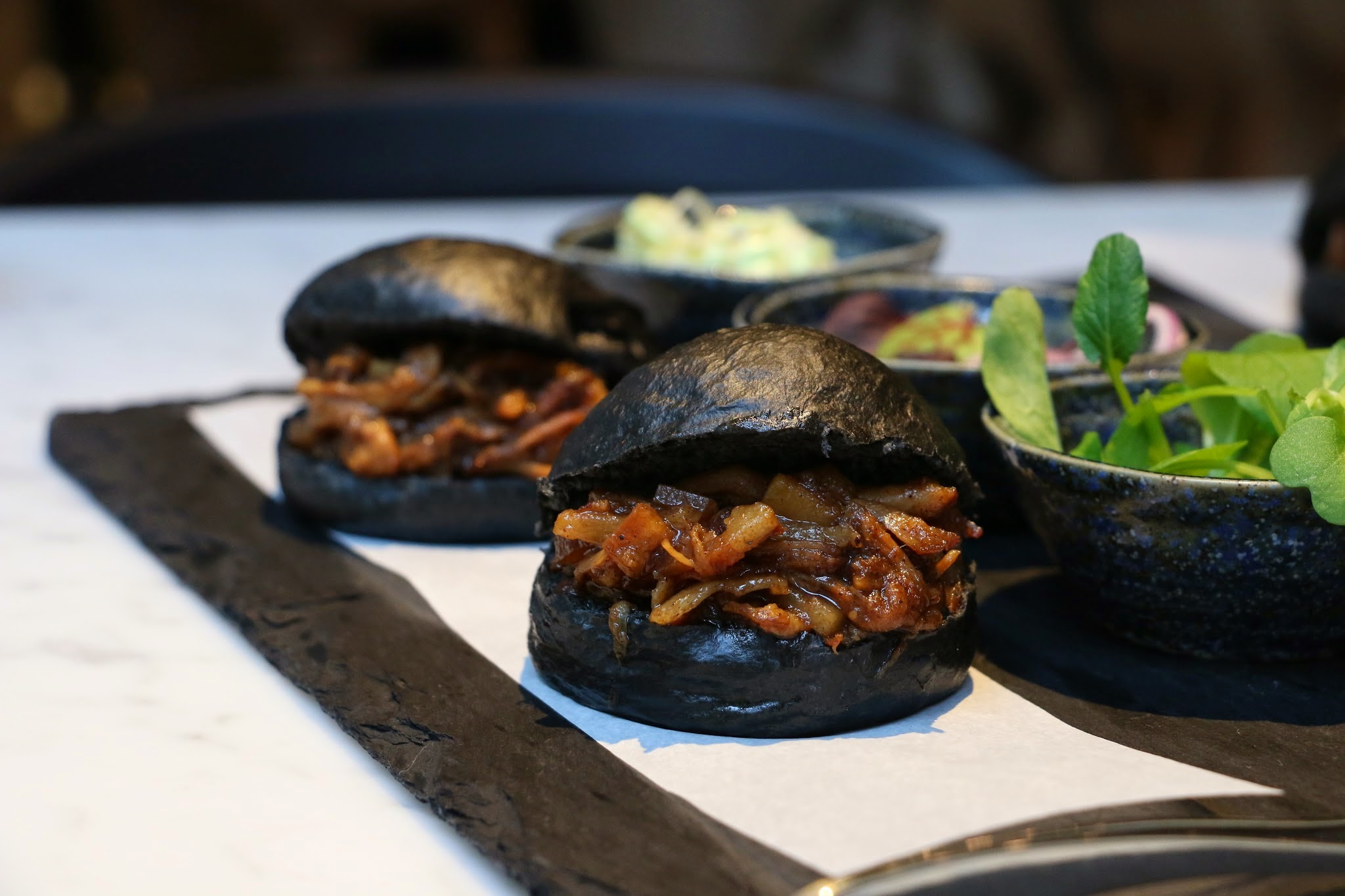 COBO HOUSE, Charcoal Plum Mantou