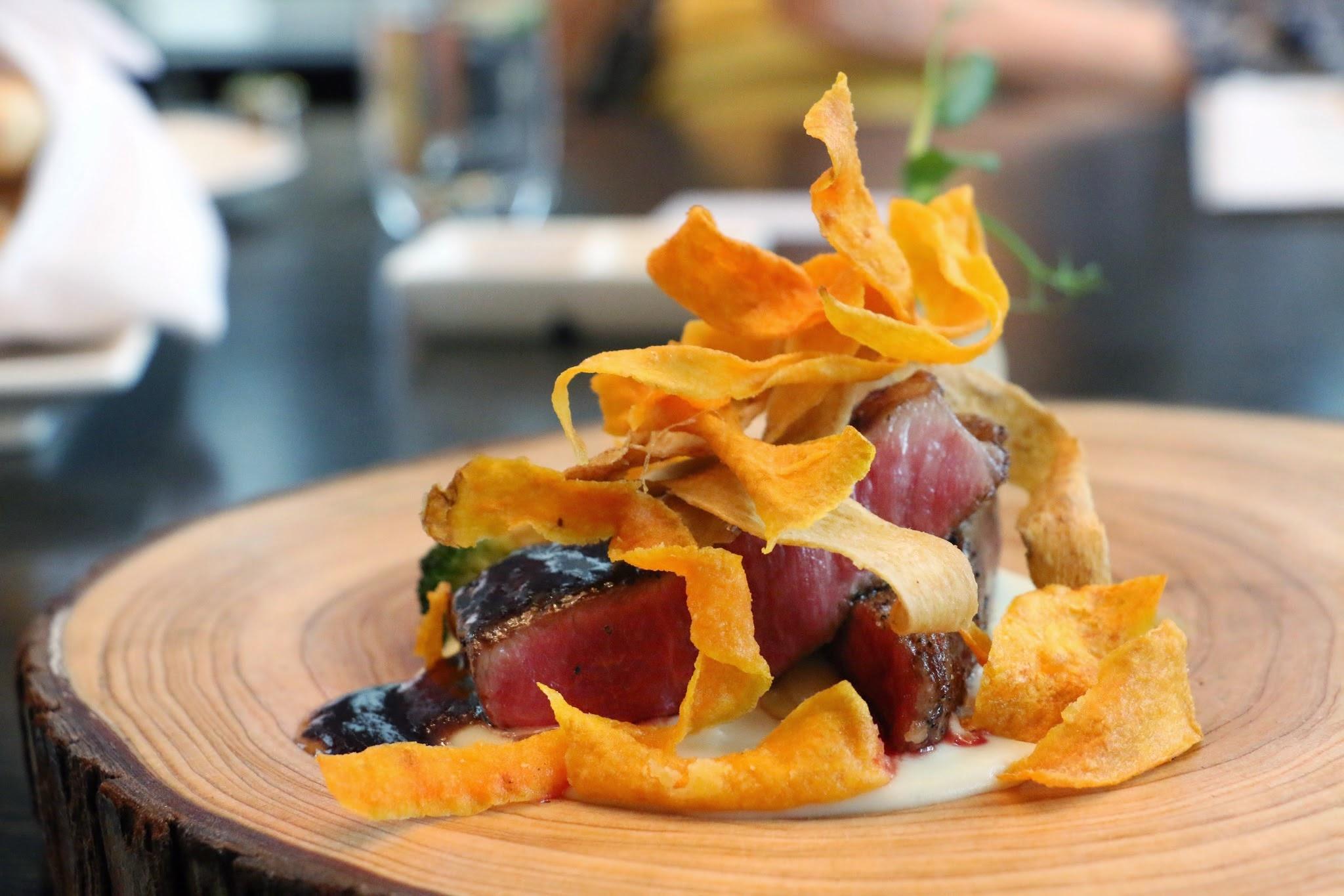 Armani Aqua Cedar Beef Wagyu Sweet Potato Strips