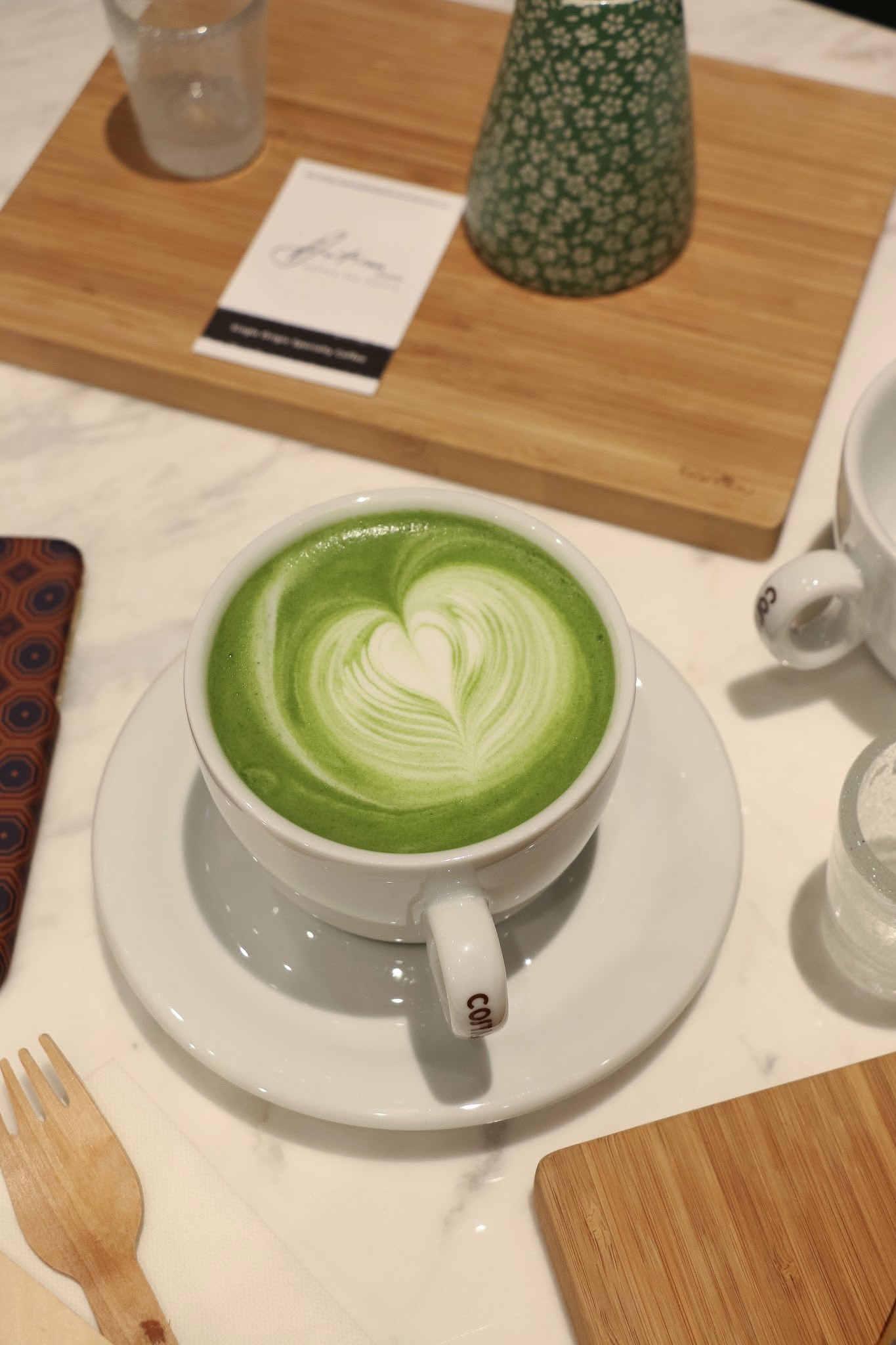 Artisan Room HK, Green Tea Latte