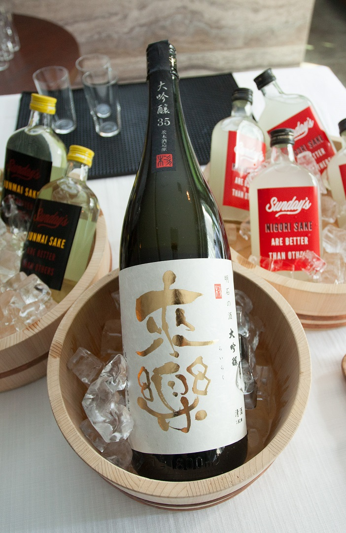 Guests can sample sake at Taste of Hong Kong