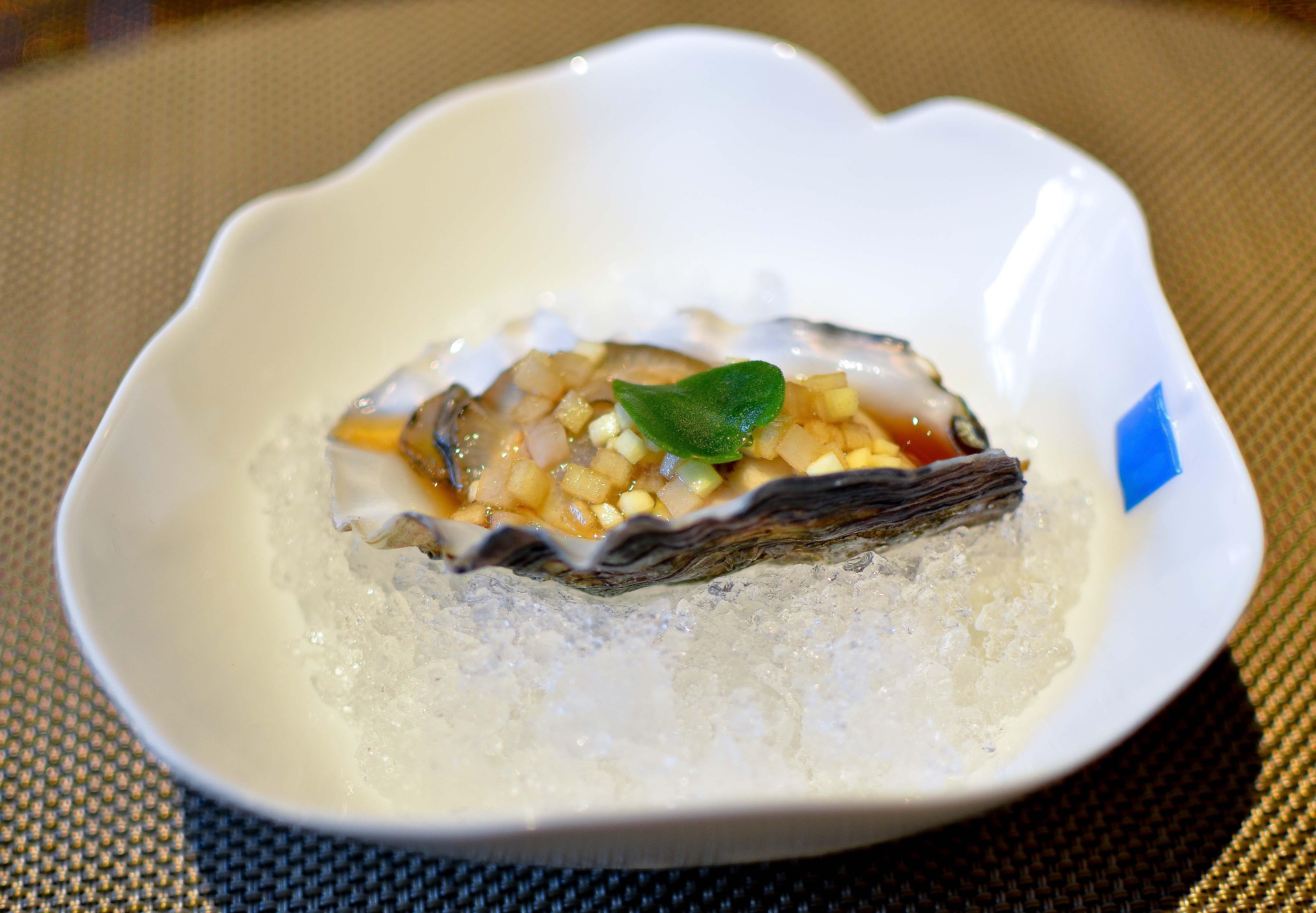 Grilled Oyster Gillardeau