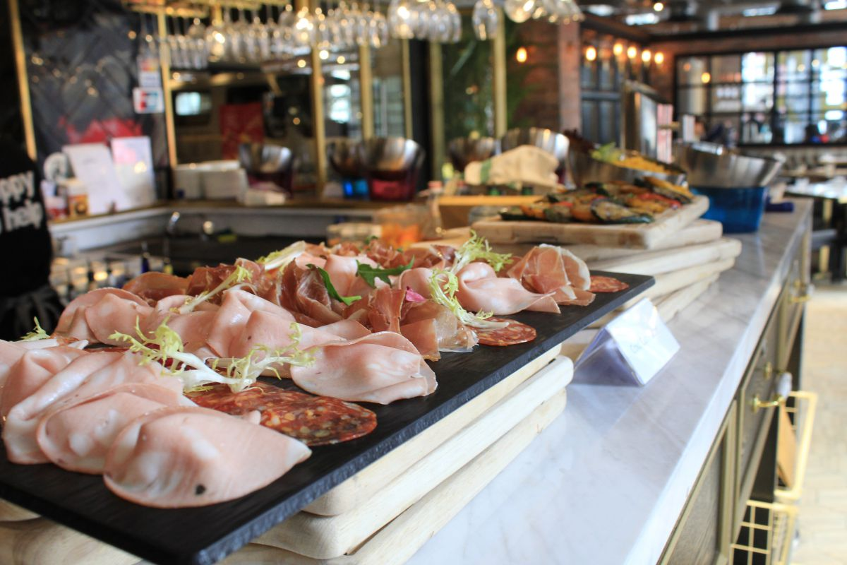 Urban Park's Brunch Buffet in Central Hong Kong