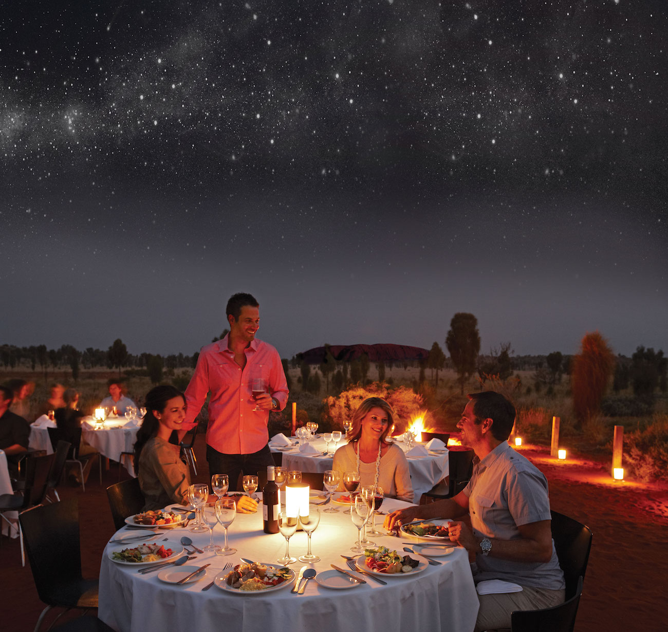 Sounds of Silence Dinner - Uluru