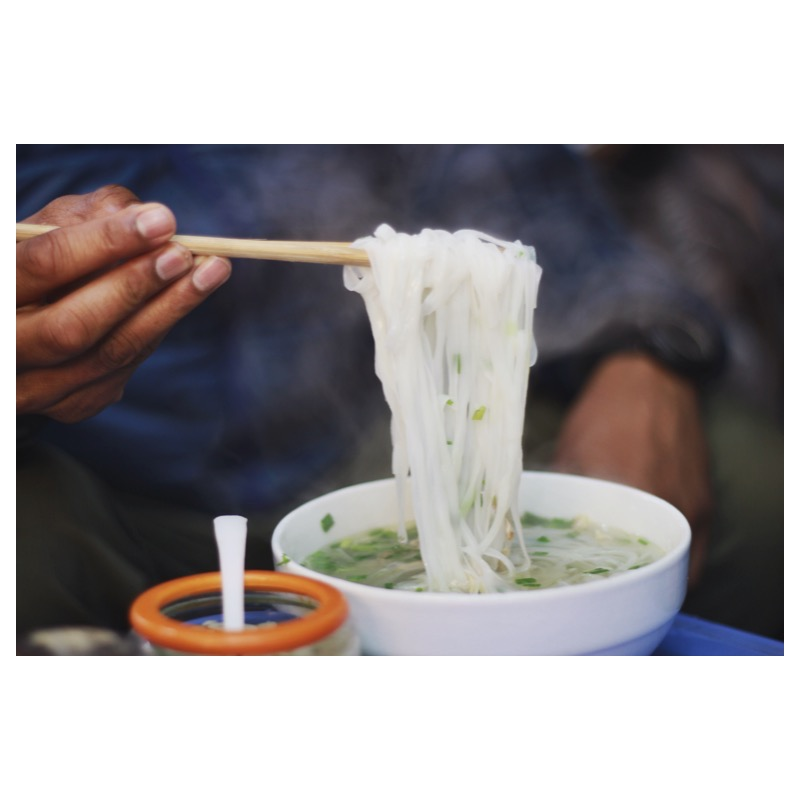 pho ga on the Hanoi Street Food Tour