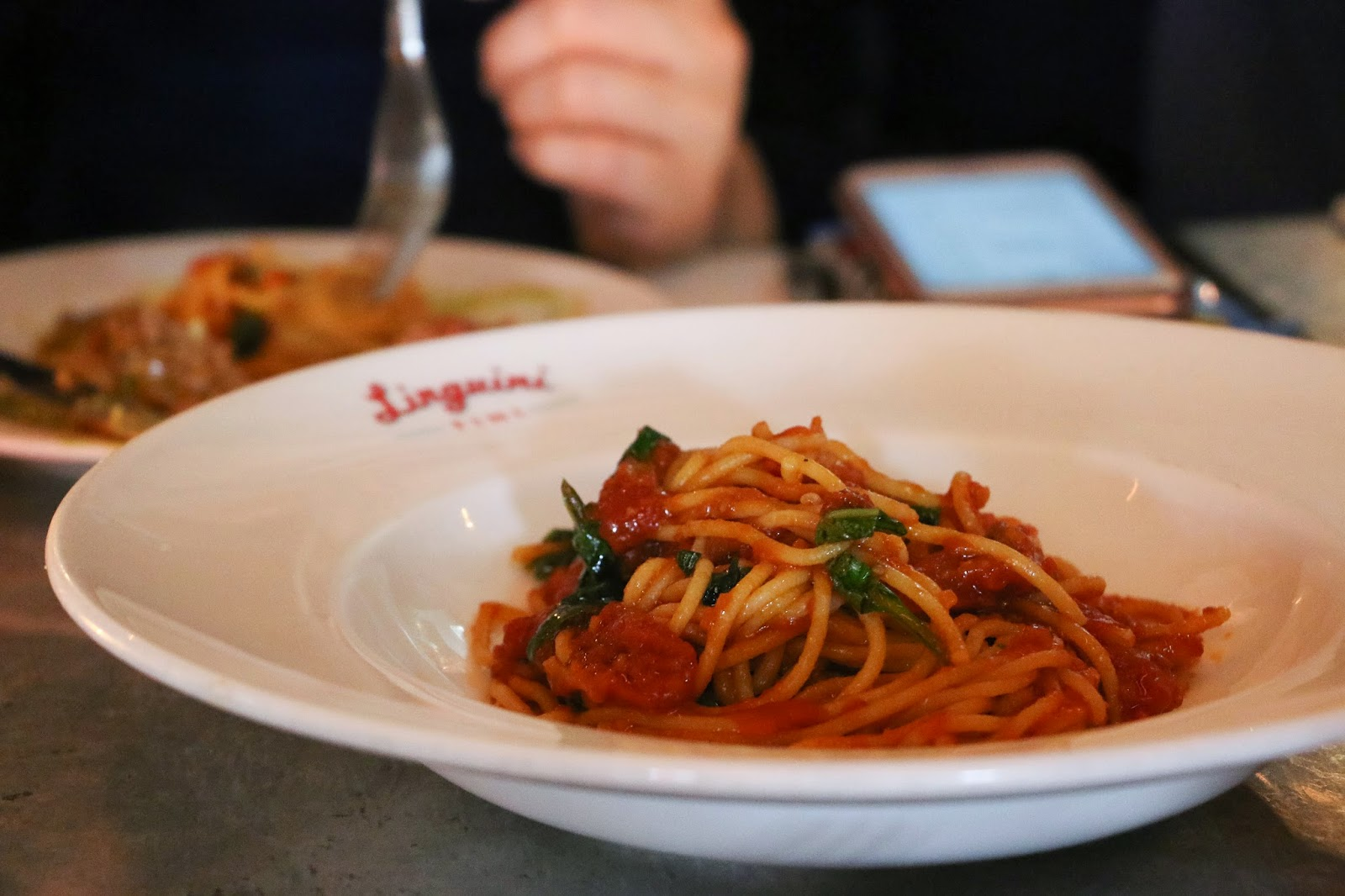 Battle of the Balls, #BestBallsHK, Linguini Fini, Spaghetti Pomodoro