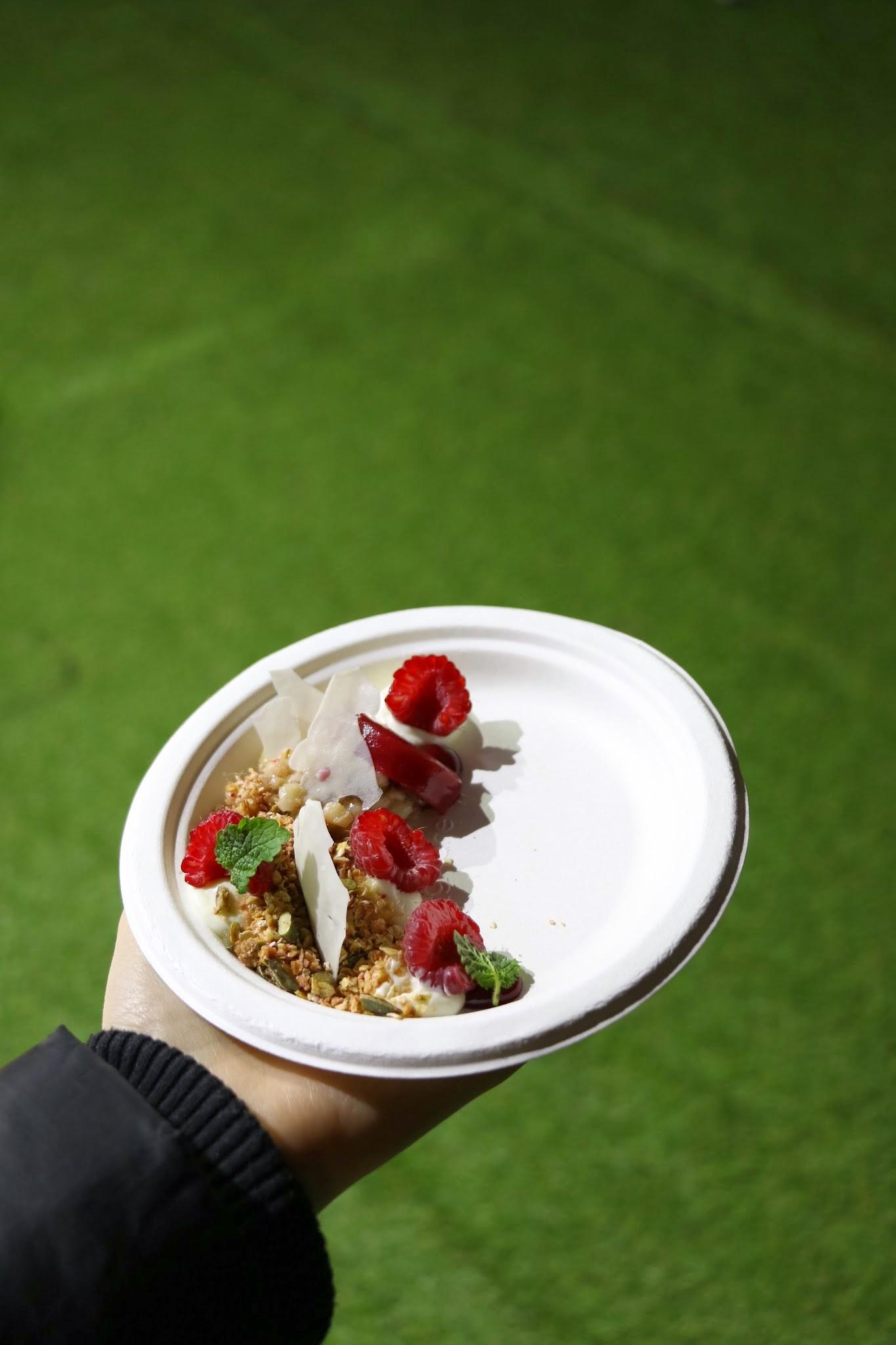 Taste Festival, Taste of Hong Kong, Aberdeen Street Social Raspberry & MascarponeWhipped mascarpone