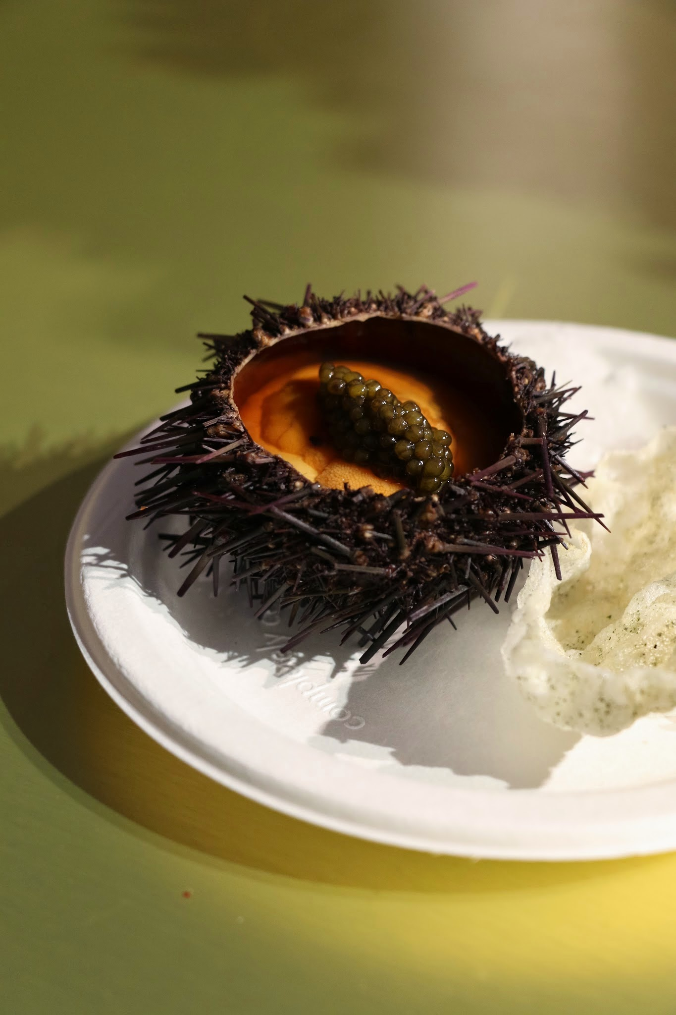 Taste Festival, Taste of Hong Kong, Amber Hokkaido aka Sea Urchin in a Lobster Jell-O