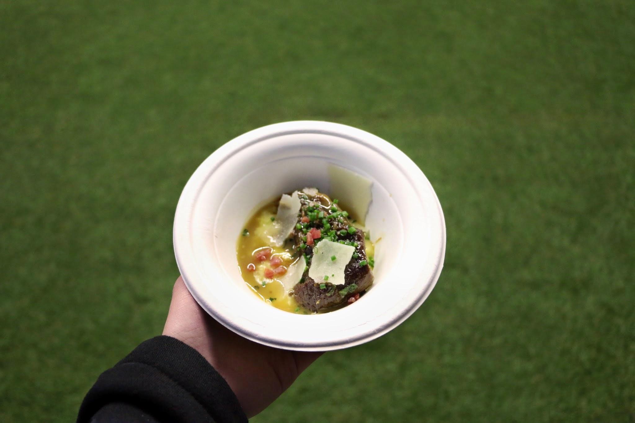 Taste Festival, Taste of Hong Kong, Cafe Gray Deluxe Marsala Glazed Veal Cheek