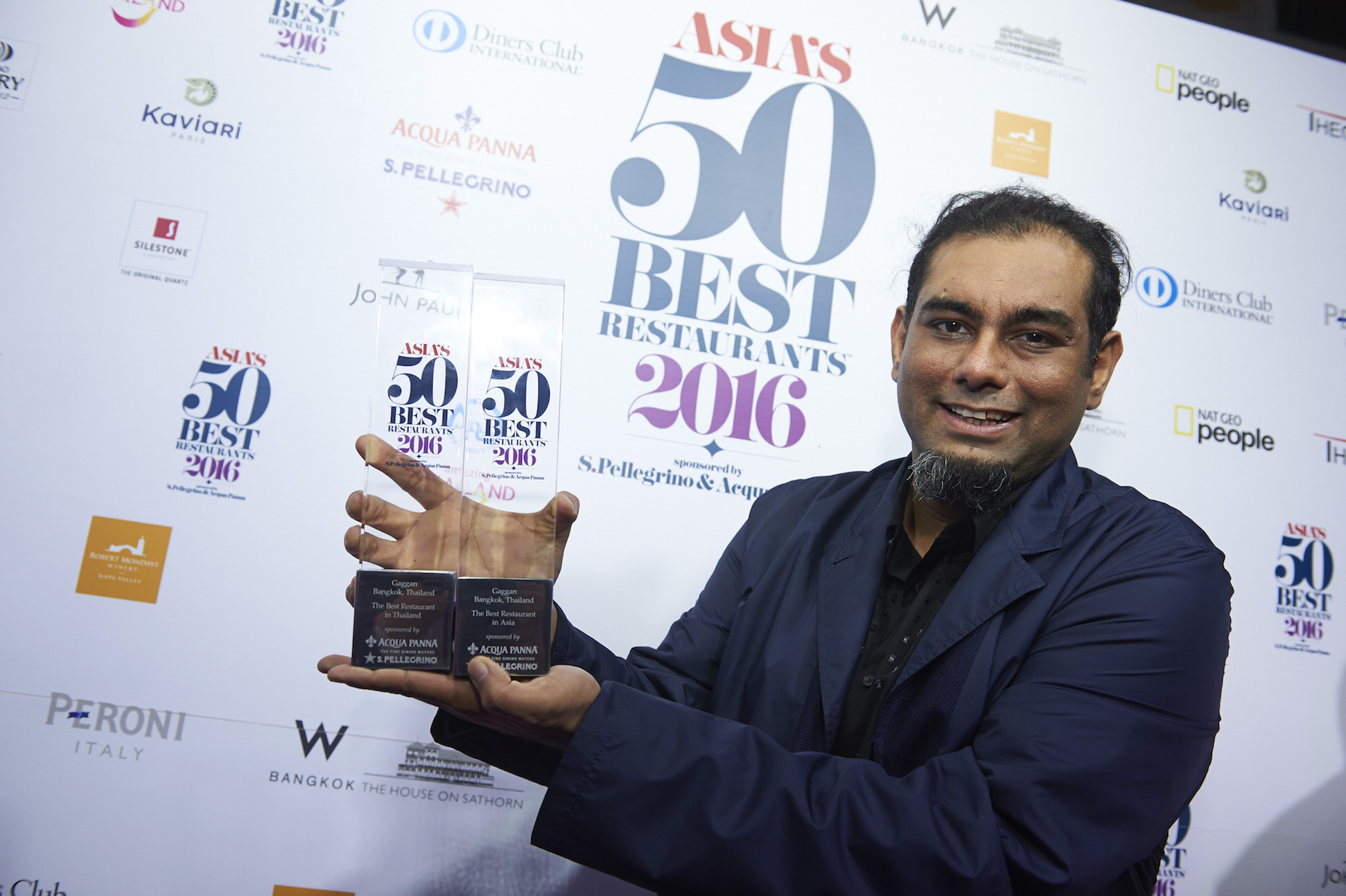 Image titleAsia's 50 Best Restaurants 2016, sponsored by S.Pellegrino & Acqua Panna